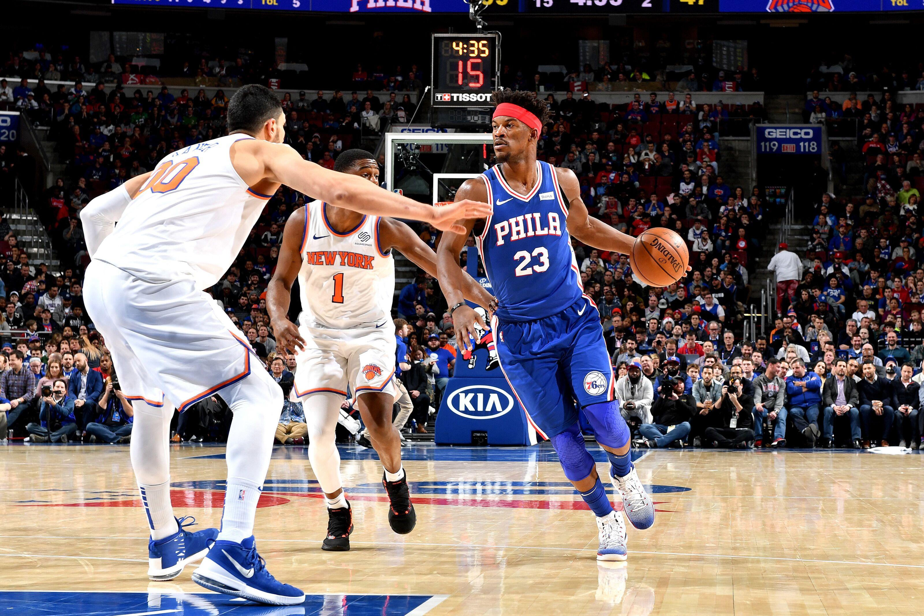 Philadelphia 76ers  Grades from 131-109 win over New York Knicks b6a0b2a17