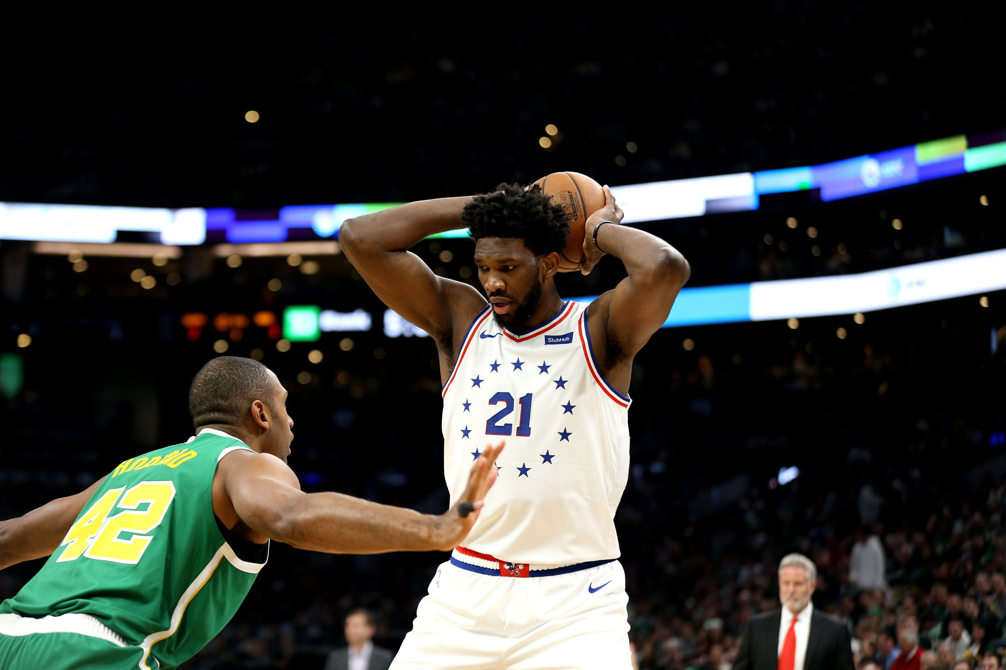 f734a359aff8 Philadelphia 76ers Player of the Week  Joel Embiid can t be stopped