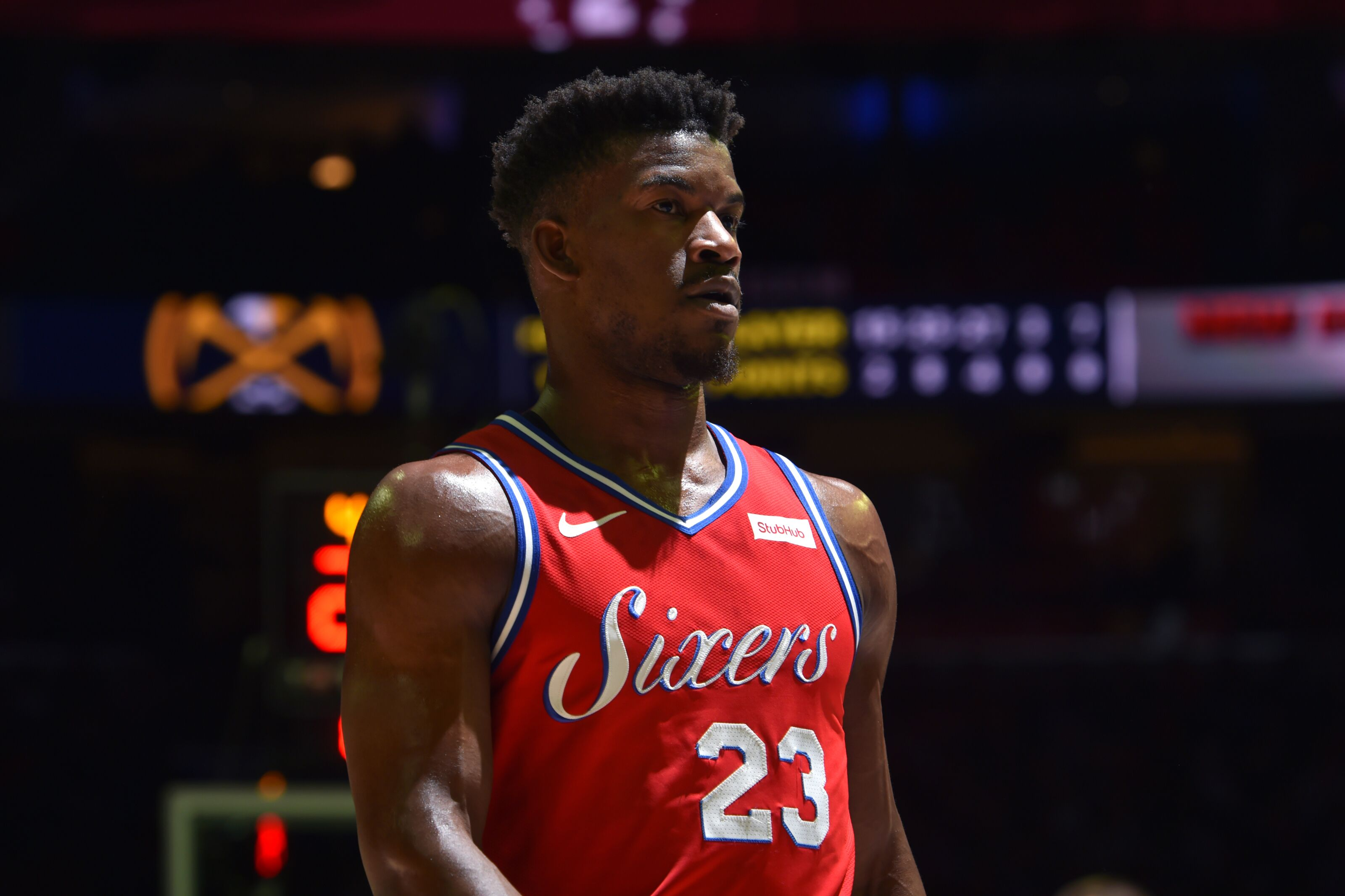 super popular b9819 87c9a Philadelphia 76ers Player of the Week: Jimmy Butler's ...