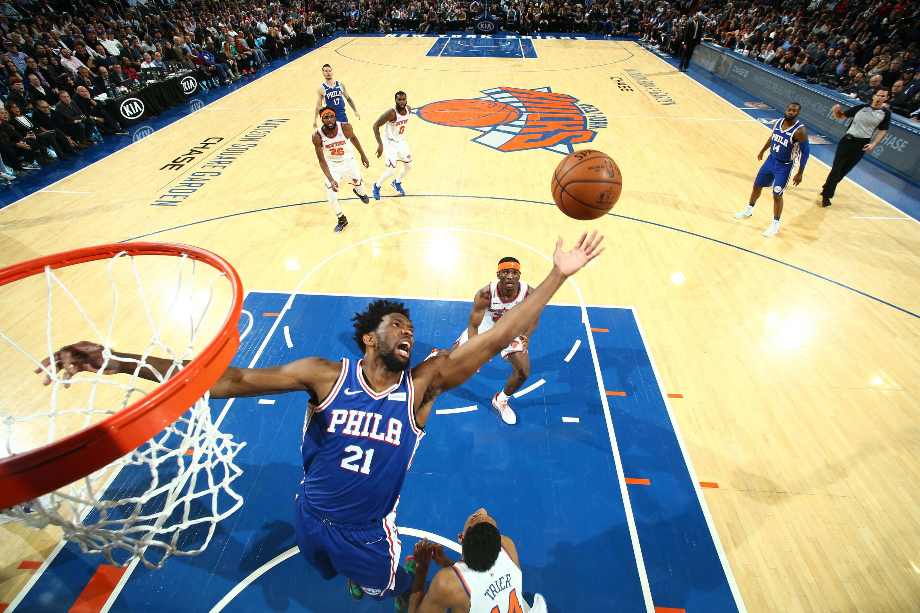 Philadelphia 76ers Player of the Week: Joel Embiid attacks the glass