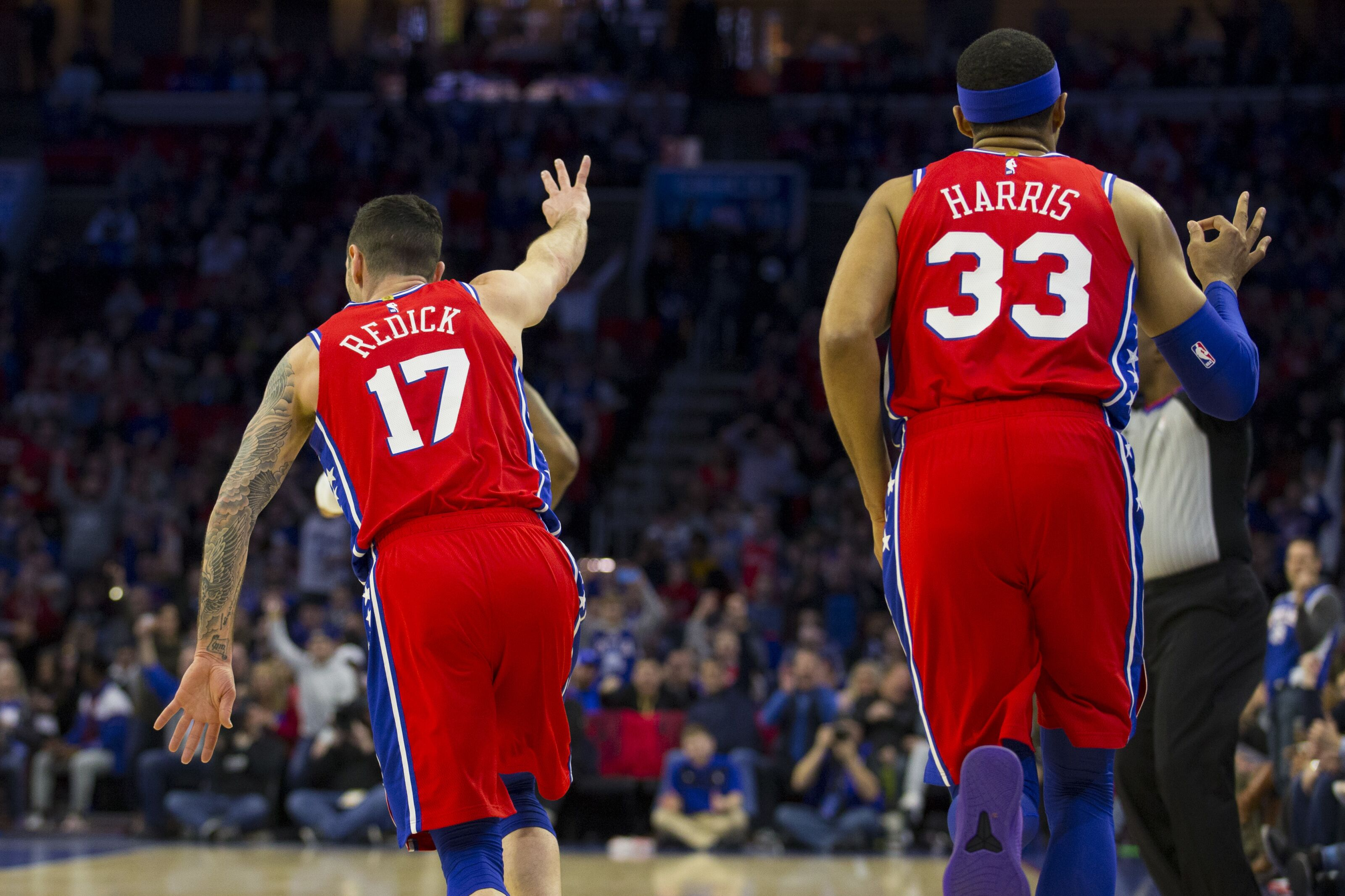 debd854740b Philadelphia 76ers  J.J. Redick is February s biggest beneficiary