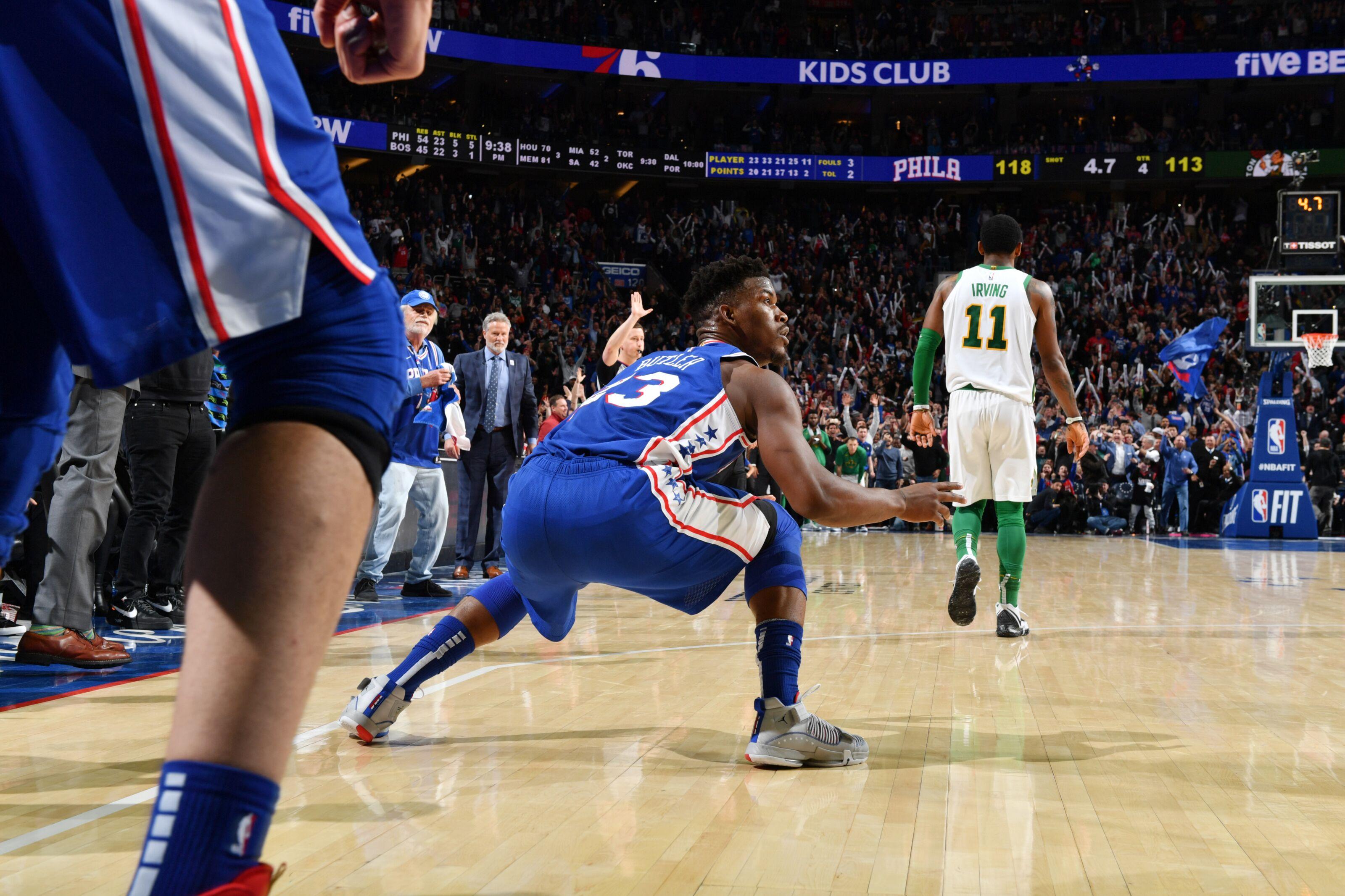 GRADES: Philadelphia 76ers 118, Boston Celtics 115