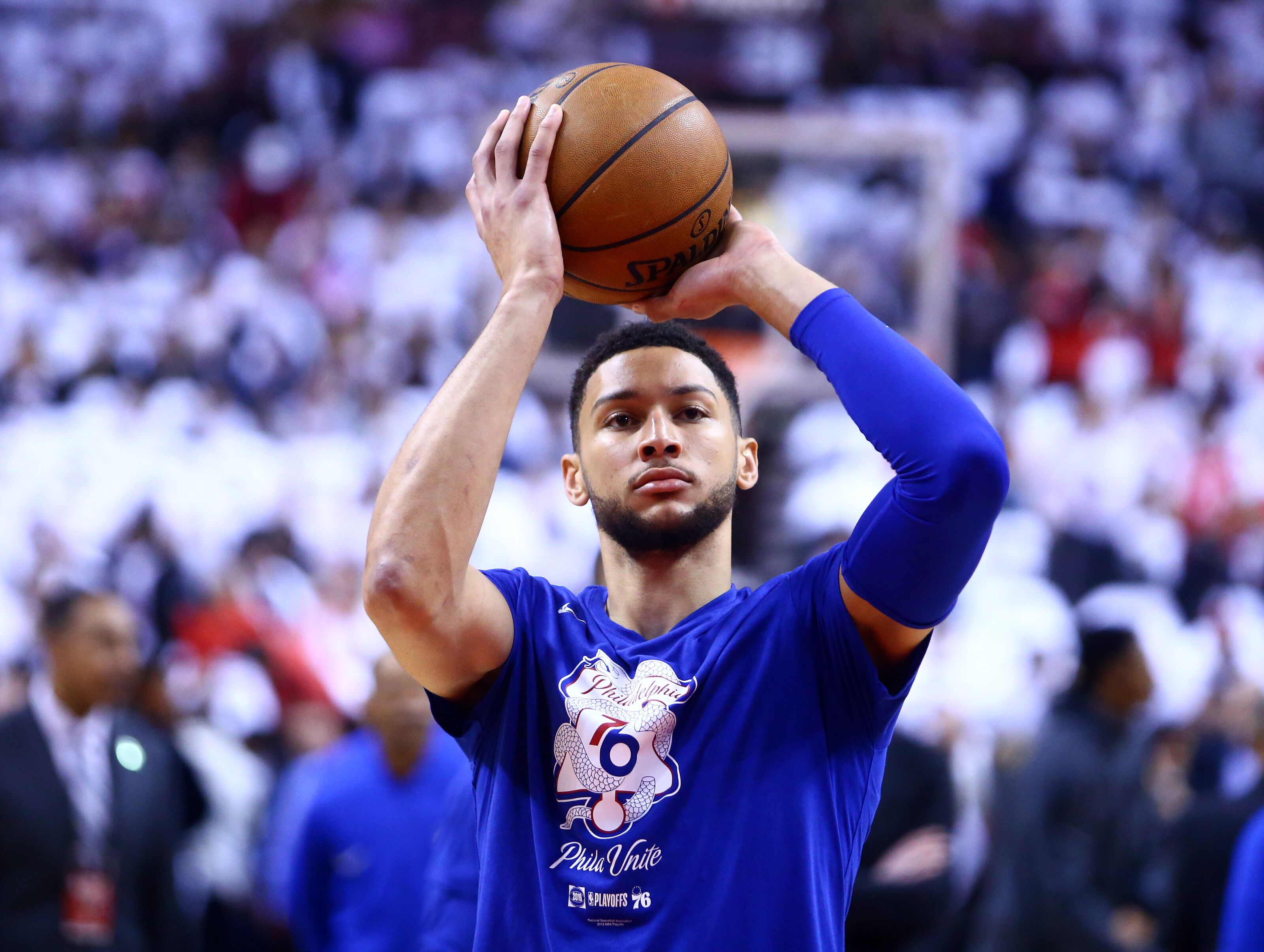 reputable site e94d3 7d7eb Philadelphia 76ers: Ben Simmons plans to join Australian ...