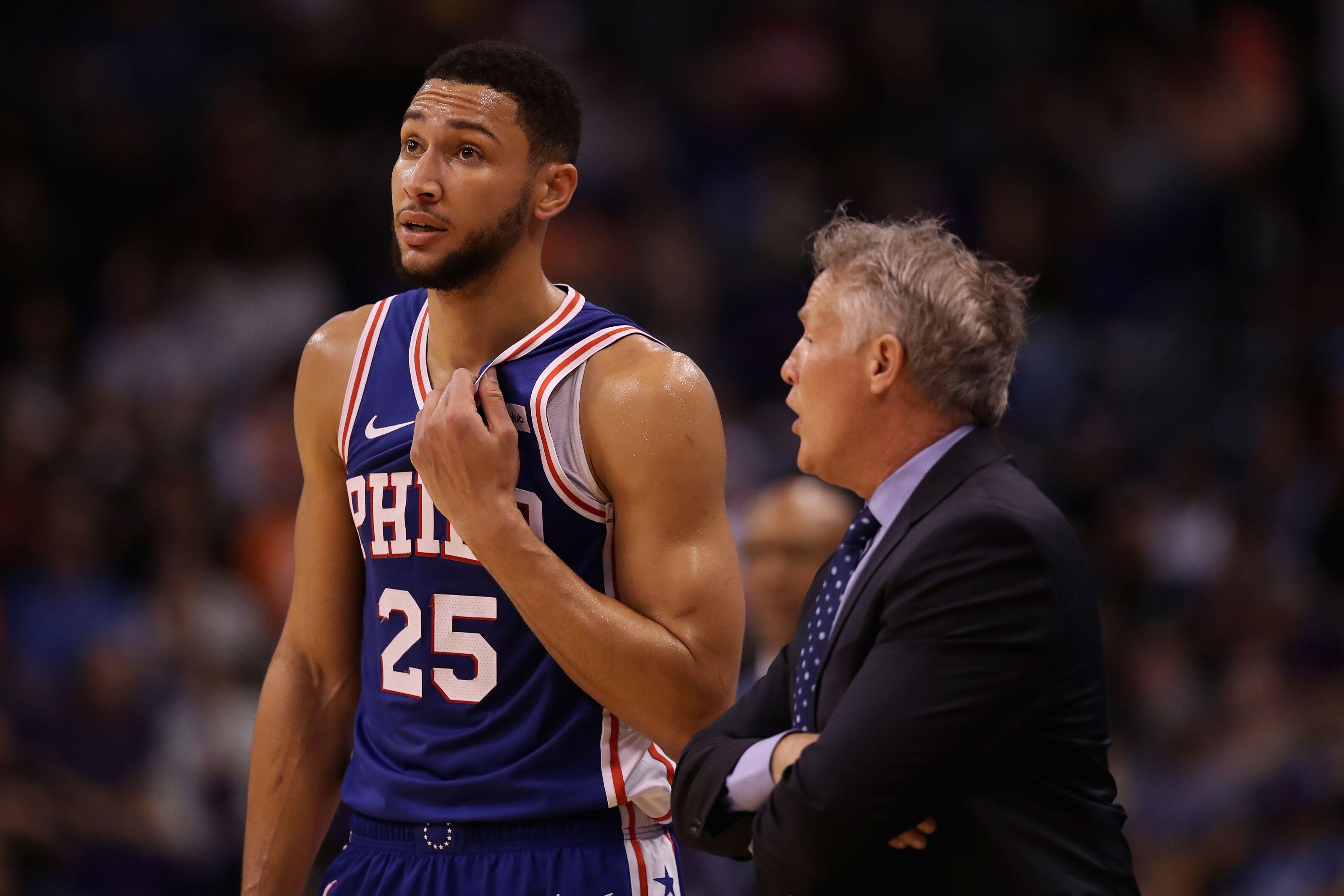 Philadelphia 76ers: Brett Brown issues Ben Simmons 3-point challenge
