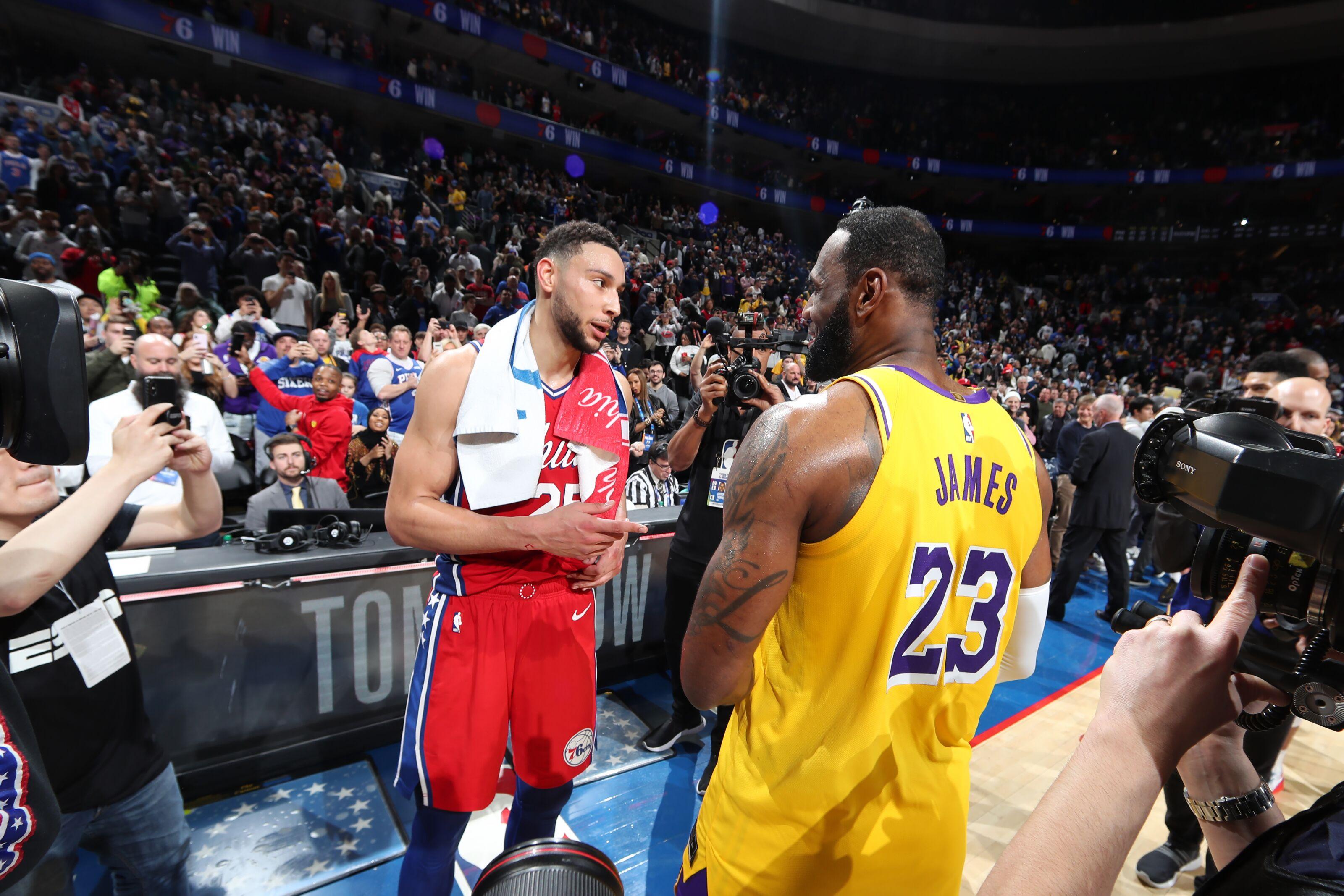 GRADES: Philadelphia 76ers 108, Los Angeles Lakers 91