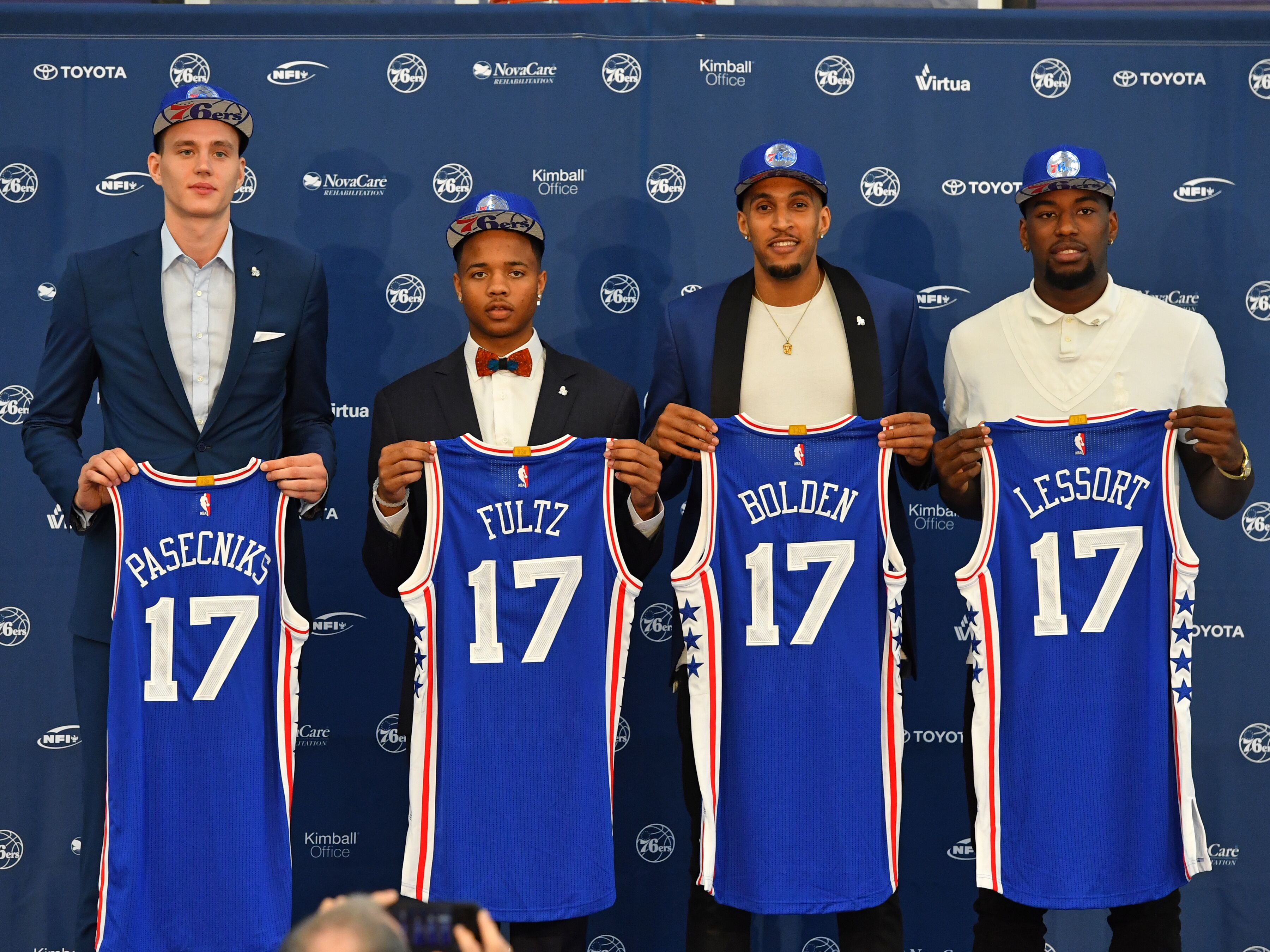 reputable site 10302 ed433 Which Philadelphia 76ers Players Not Assured 2017-2018 ...