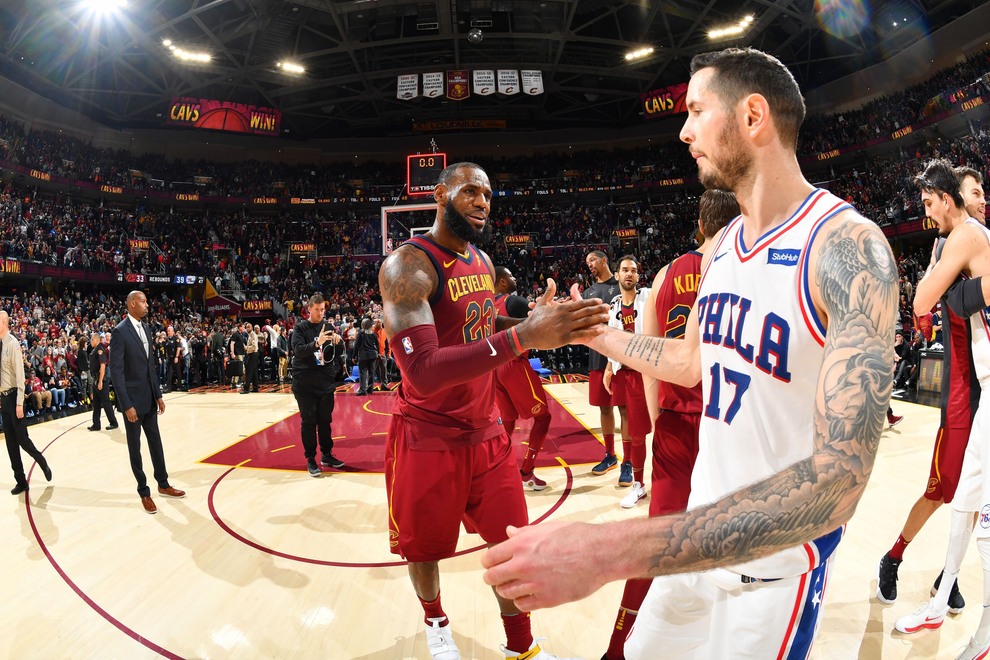 47add689b Philadelphia 76ers  LeBron James  quick decision helps sort out roster