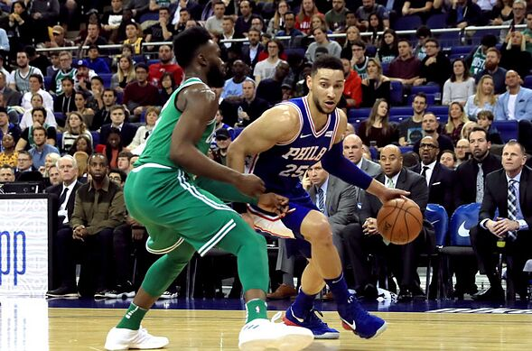 a845e2ec1 The Philadelphia 76ers are coming off their first playoff series win of The  Process era. The Celtics just slugged out a seven-game victory over  Milwaukee.