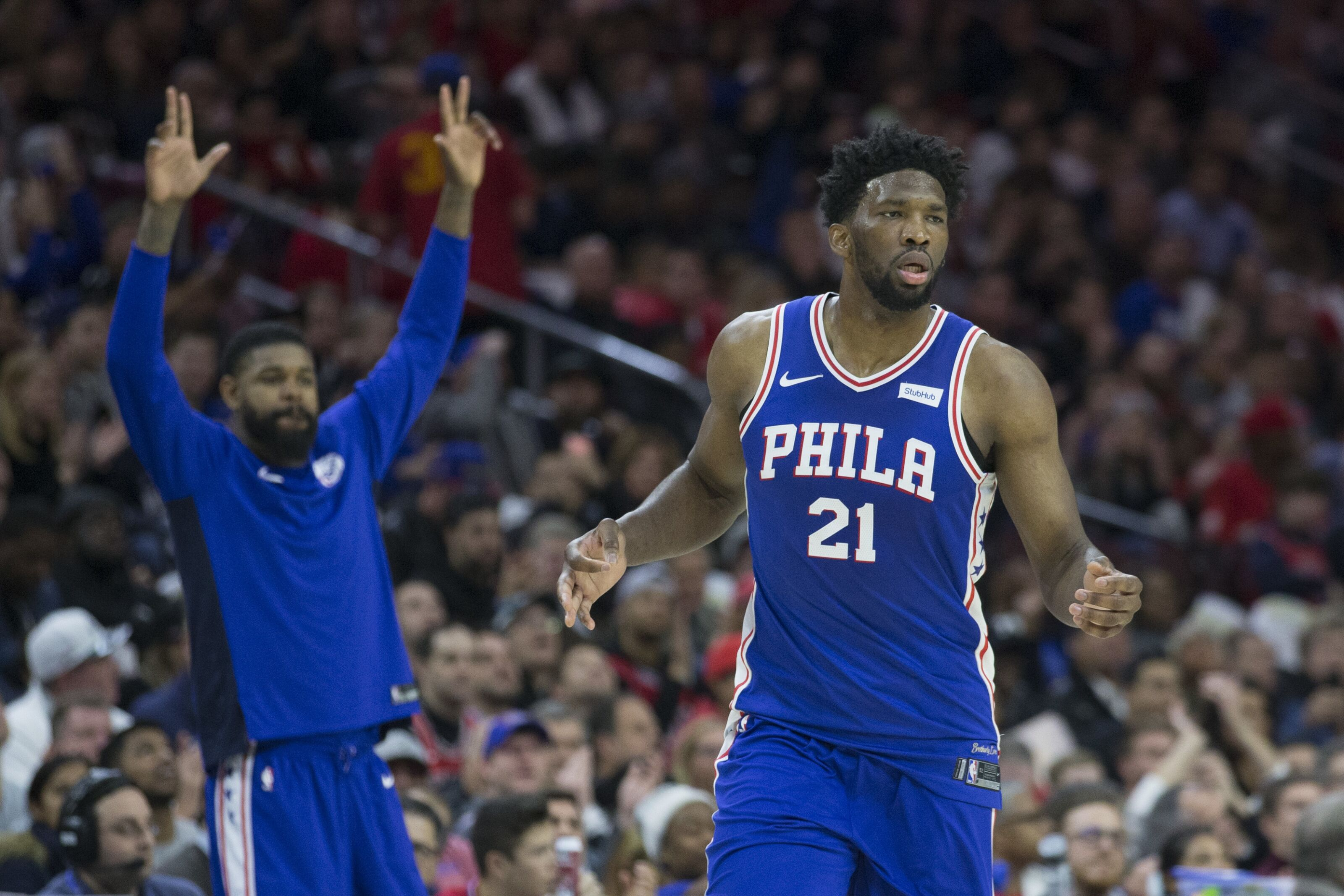 62ce4bf78 Philadelphia 76ers don t have depth at center to survive a Joel Embiid  injury