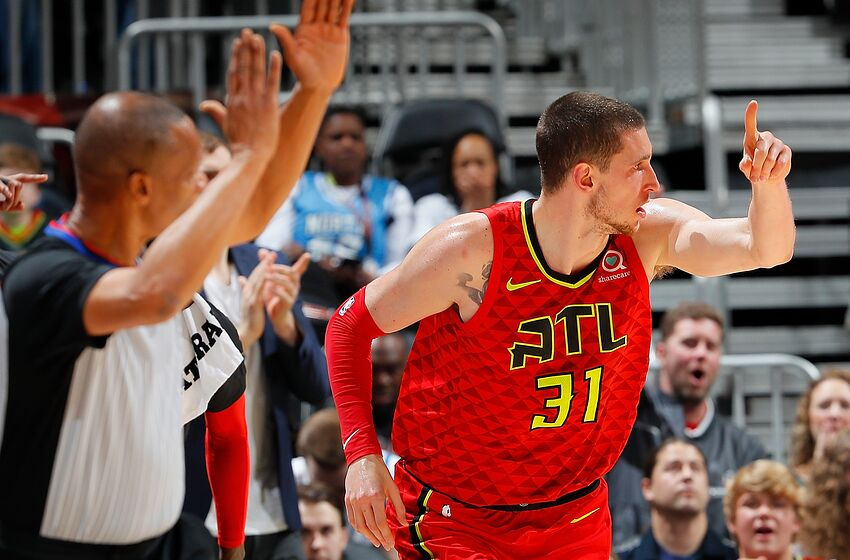 sale retailer 30ba7 493b6 Mike Muscala is the Philadelphia 76ers most underrated reserve