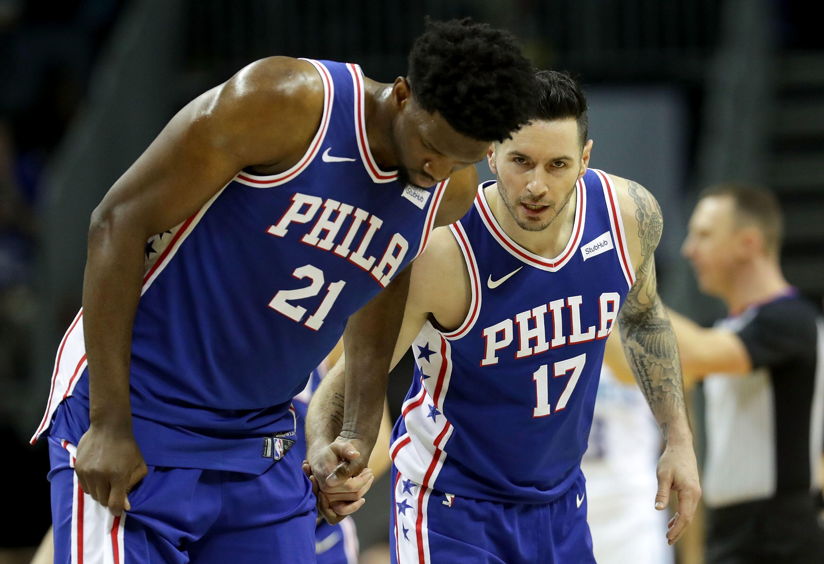 cfe0e8070600 Philadelphia 76ers  J.J. Redick dubs Embiid