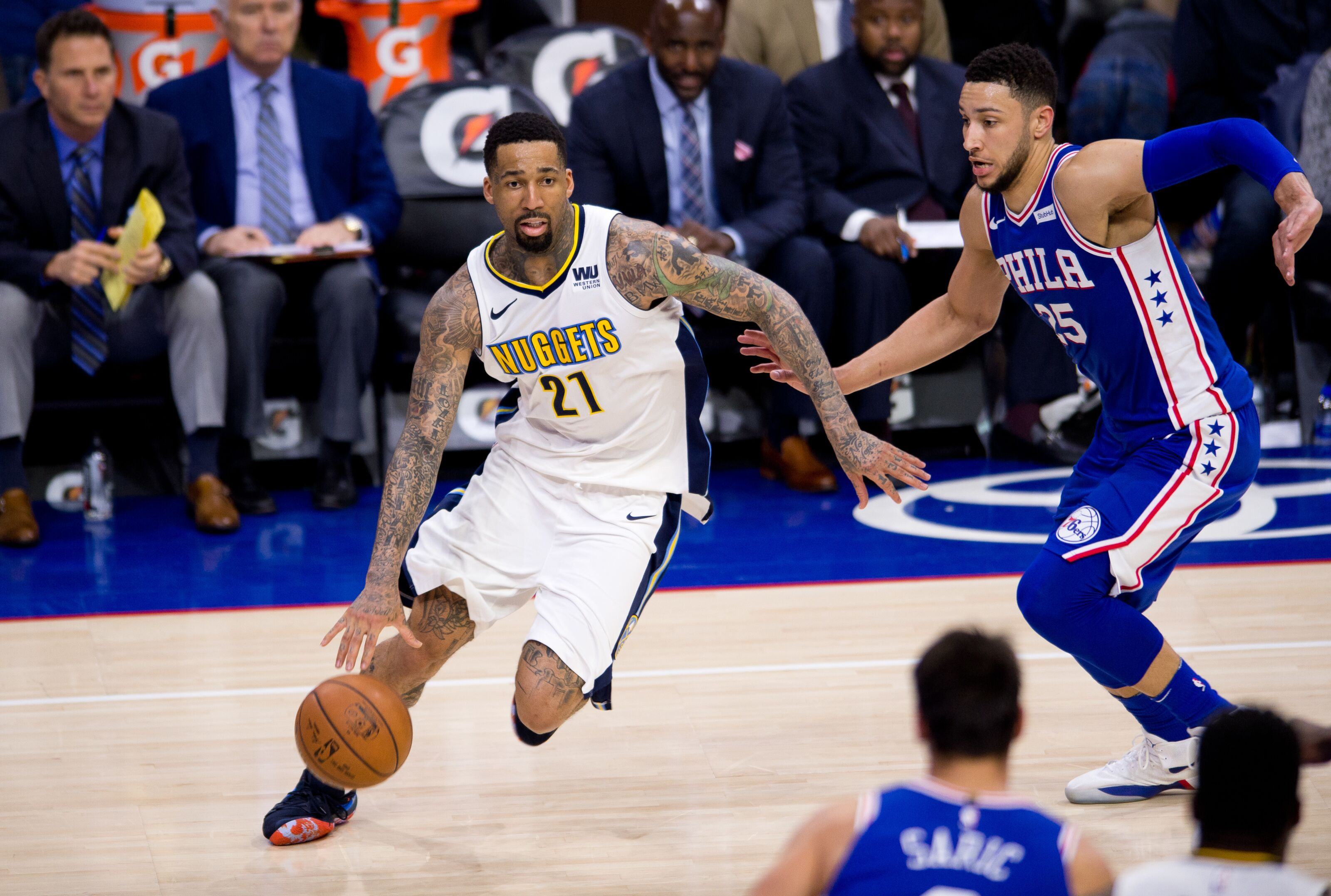 64e50371fa61 Philadelphia 76er  Wilson Chandler could be NBA Sixth Man of the Year