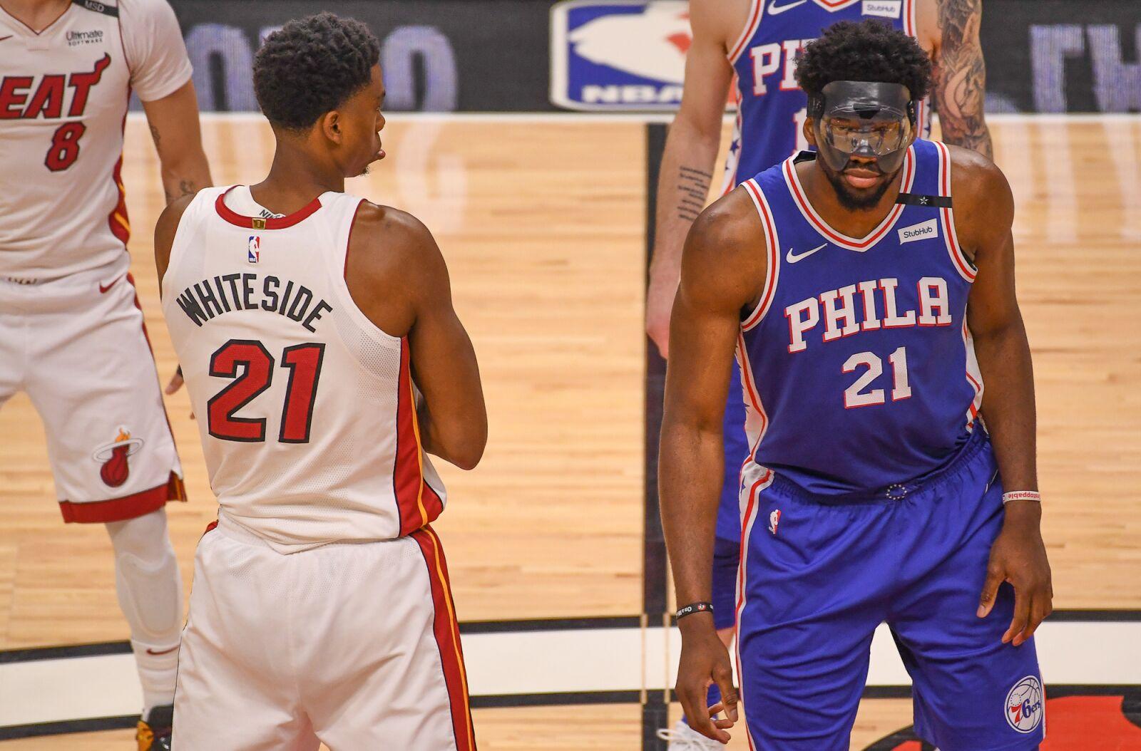 8782e3ccd9eb Philadelphia 76ers  Joel Embiid vs. Hassan Whiteside in NBA Africa Game