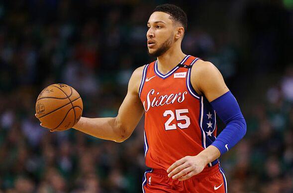 30a8d73cd Philadelphia 76ers  Ben Simmons
