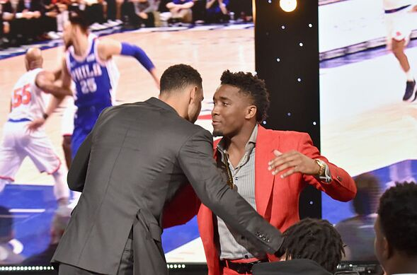 18de28ef8d06 Philadelphia 76ers  5 reasons Ben Simmons will have better career than  Mitchell