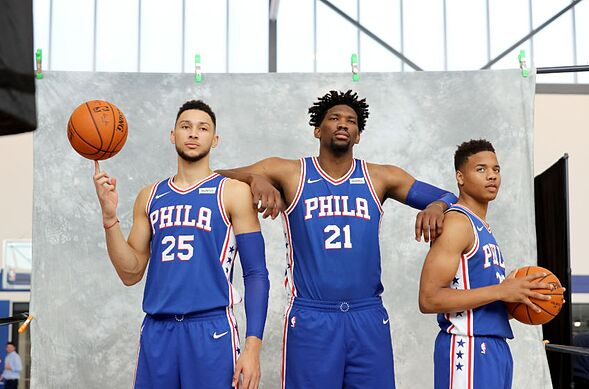 Image result for fultz embiid simmons
