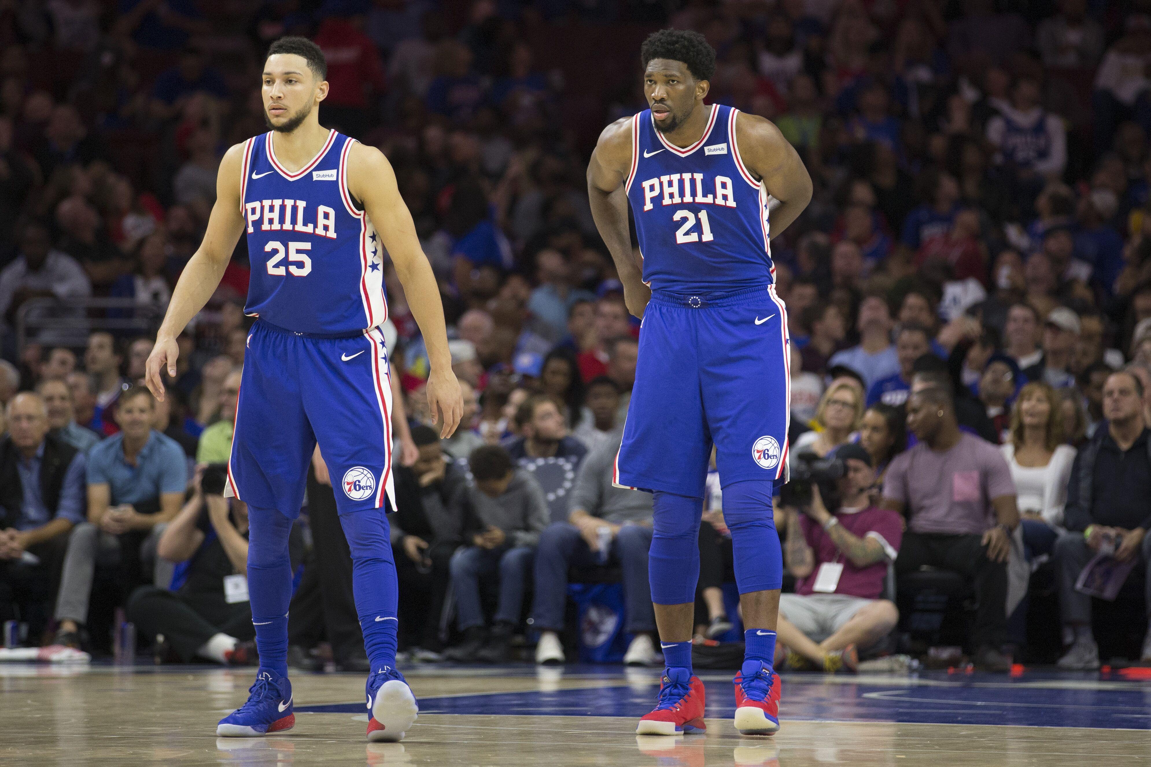 Philadelphia 76ers could legitimately field winning tall bal