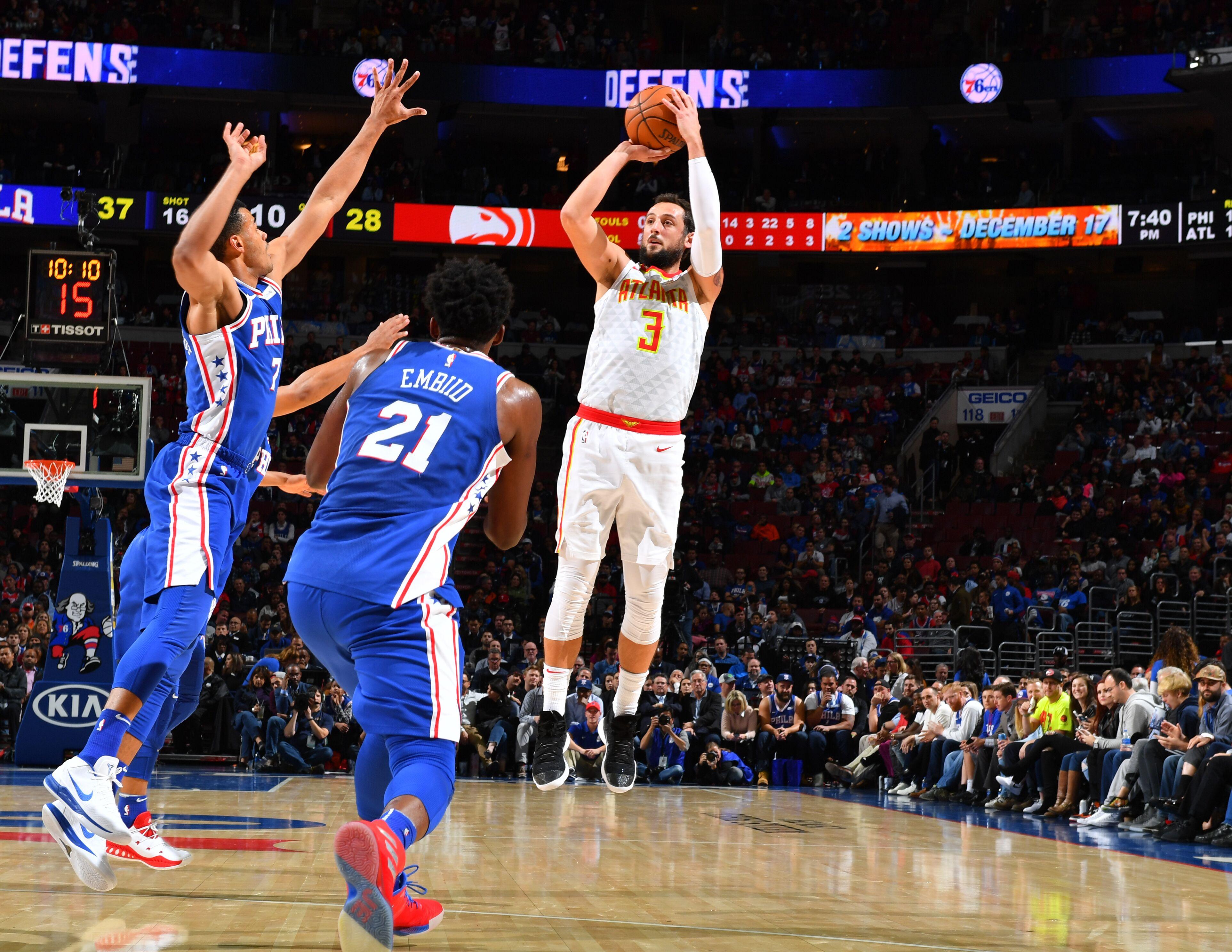 NBA Rumors Philadelphia 76ers Plan B Hawks SG Marco Belinelli