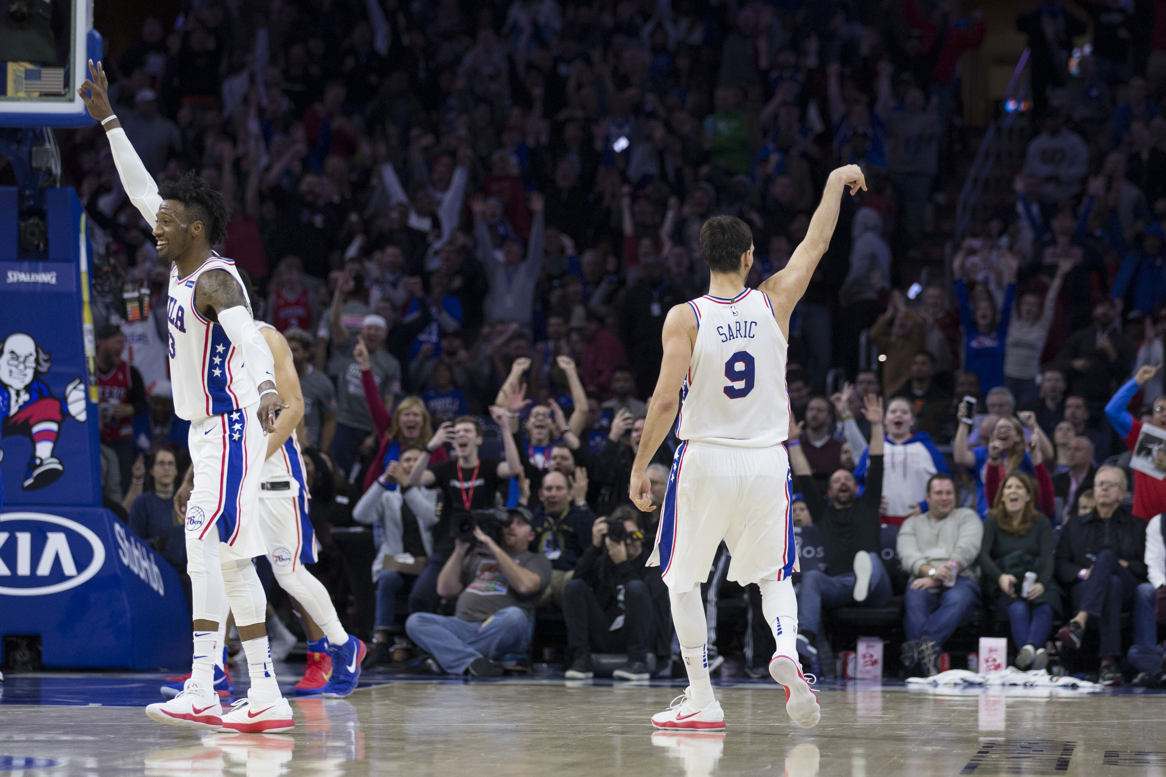 Philadelphia 76ers  Dario Saric is starting to find his groove 105189319