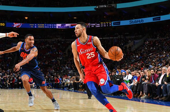 a8f717c0eb89 Philadelphia 76ers  Is Ben Simmons losing ground in the ROY race