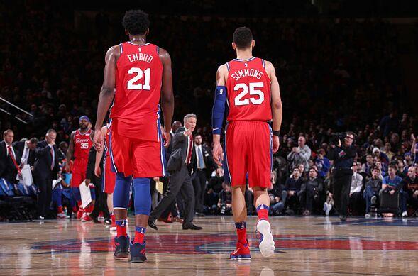 pretty nice 8345a 84865 Philadelphia 76ers: Joel Embiid, Ben Simmons are deserving ...