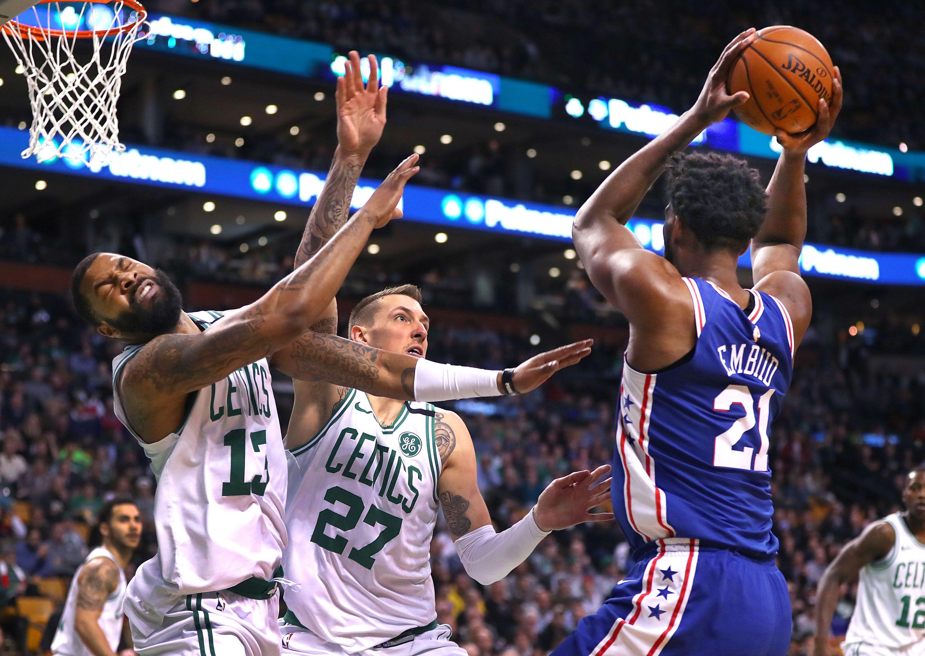 85f091d4d Philadelphia 76ers greatest rivals are Boston Celtics