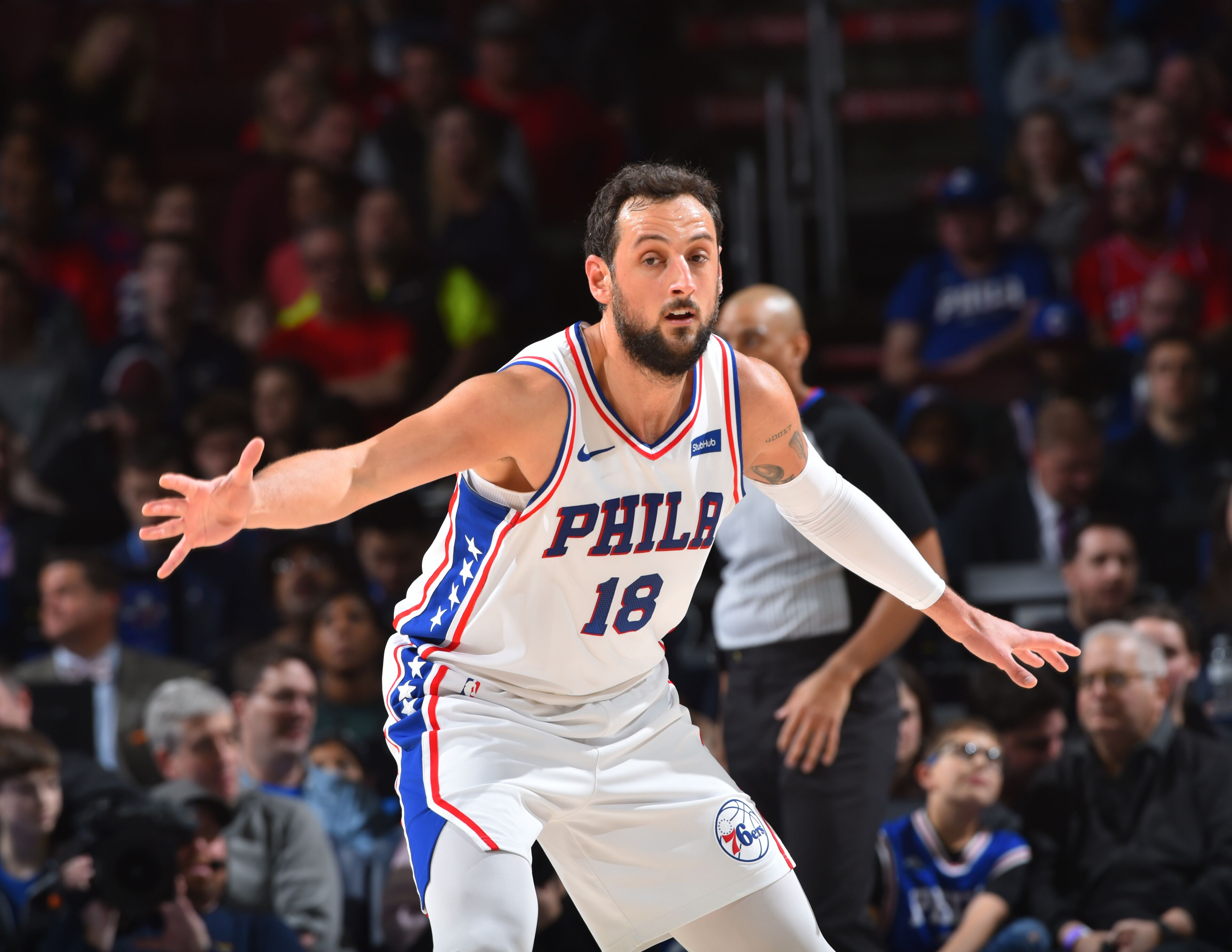 the best attitude 0b784 41e12 Philadelphia 76ers: Give Marco Belinelli time to adjust
