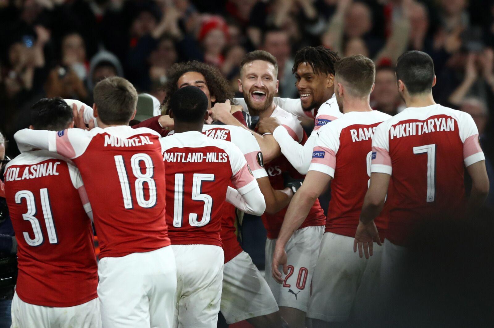 Arsenal Turn Rennes Tie Around to Advance to Europa League Quarters