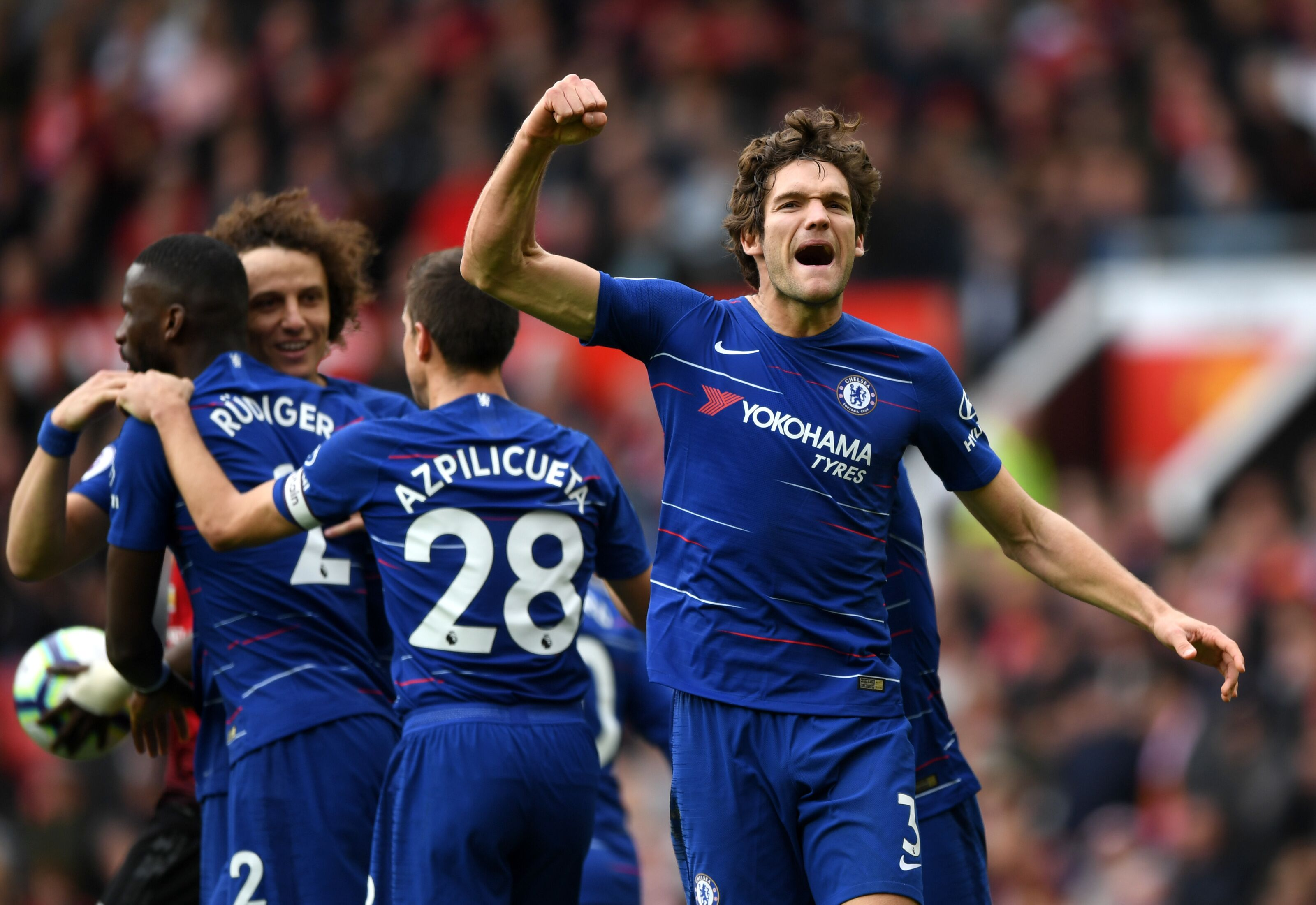 Chelsea full-back Marcos Alonso agrees deal with Atletico Madrid