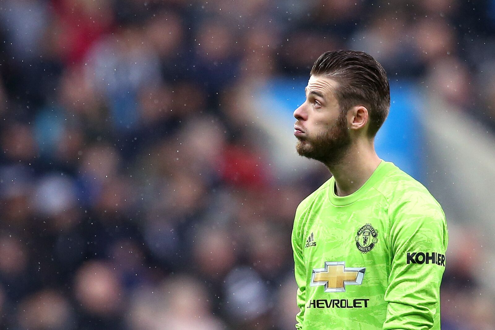 Man United's dressing room is lacking players – David de Gea latest