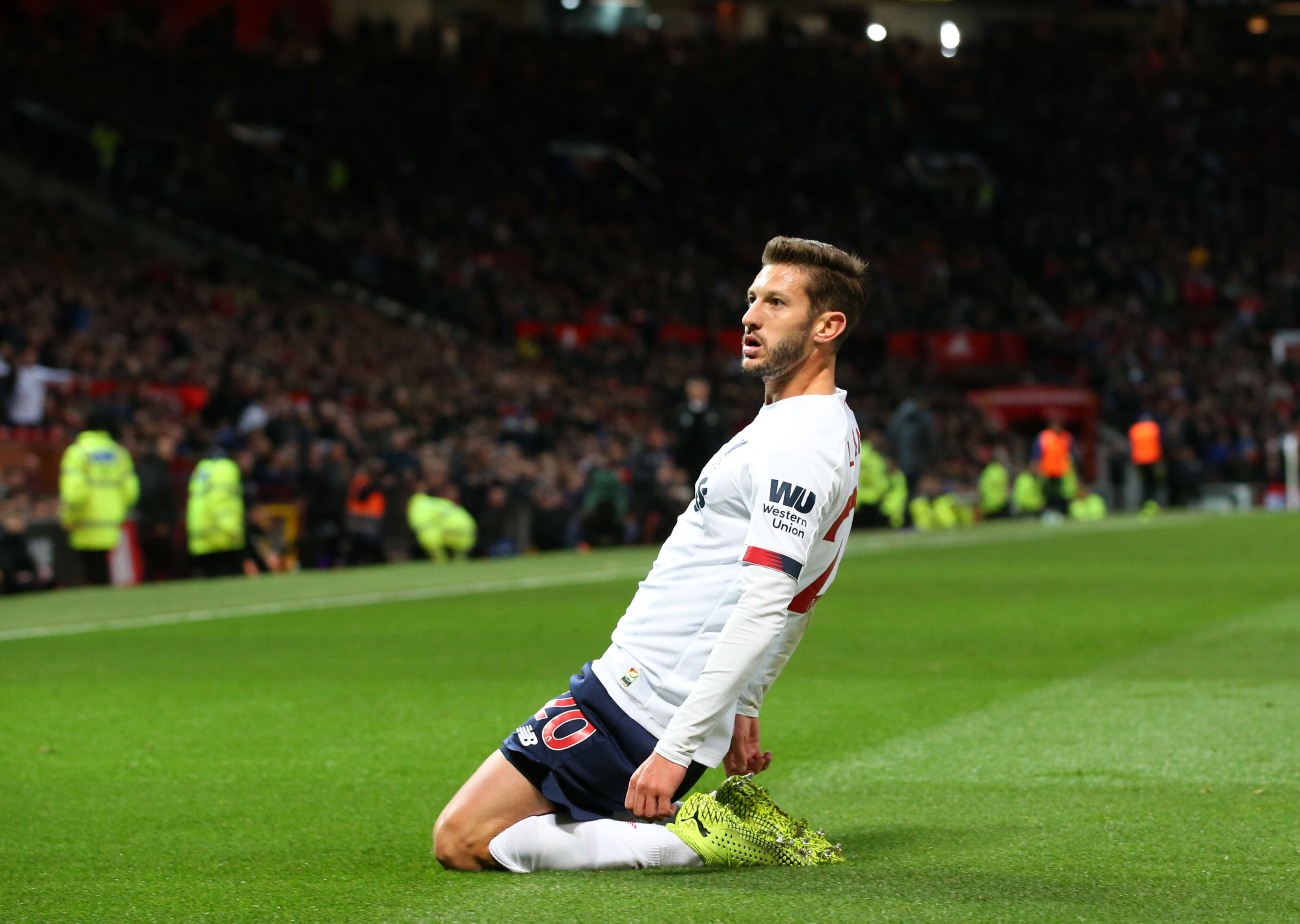 Liverpool: Adam Lallana was never backed by the public to score
