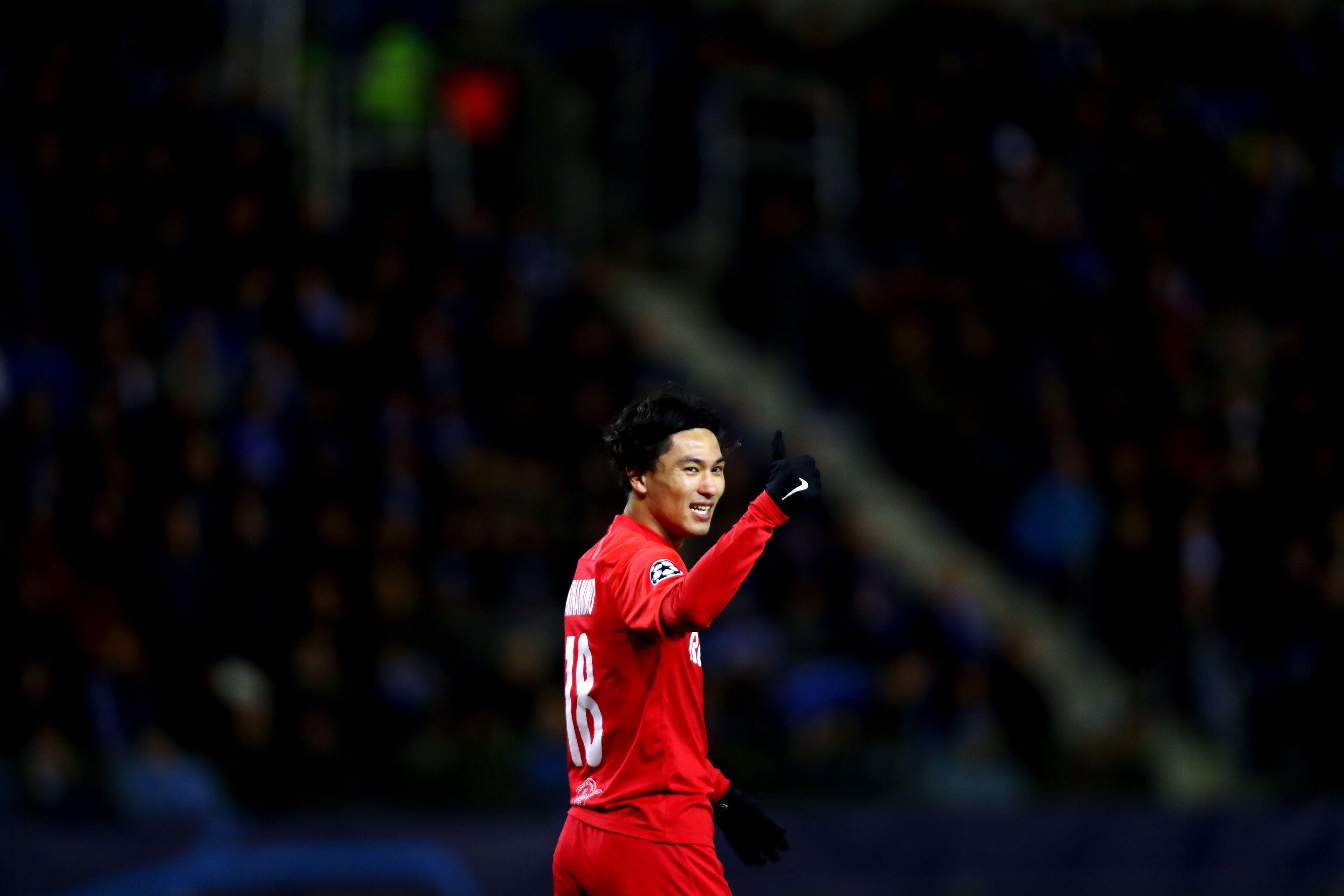 Liverpool beats a host of European clubs to Takumi Minamino's signature