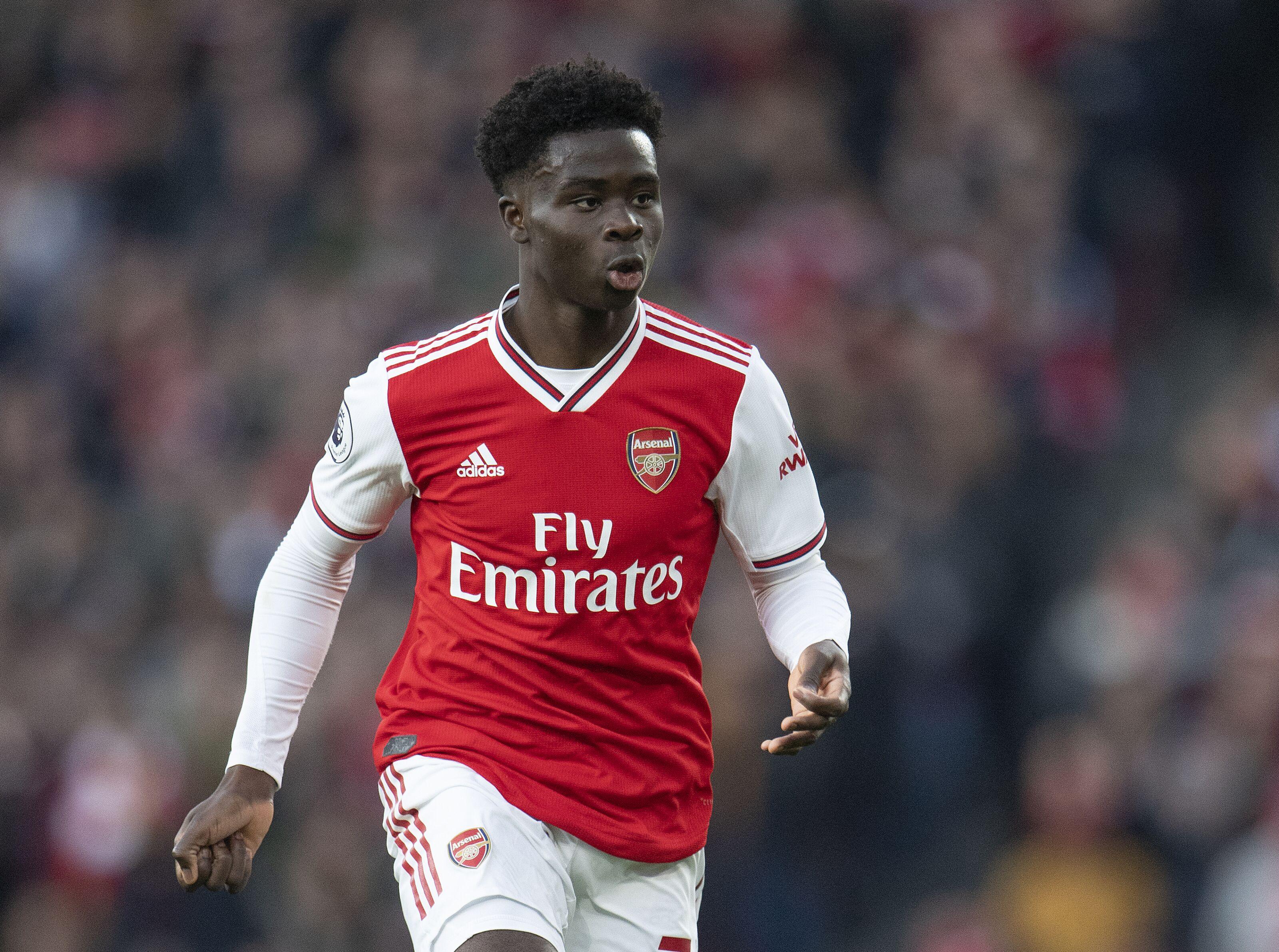 Arsenal making progress on new Bukayo Saka contract