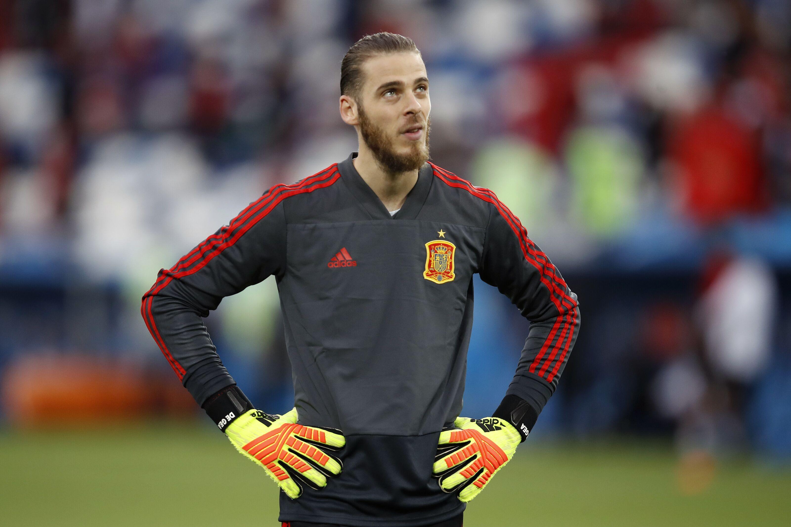d7cf8becf90 World Cup  David de Gea showing his human after poor Spain display