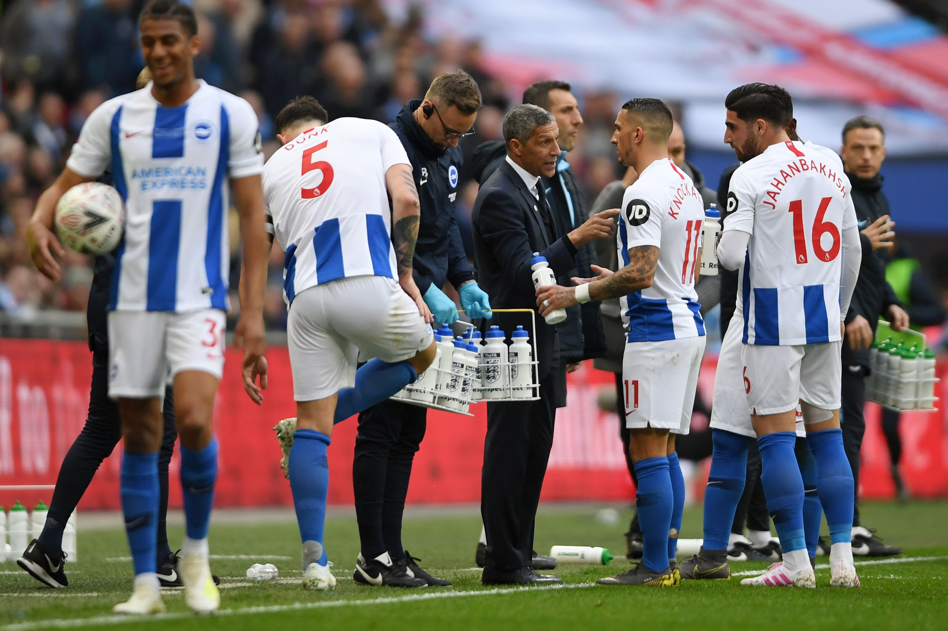 Chris Hughton favourite for next Premier League manager to be sacked