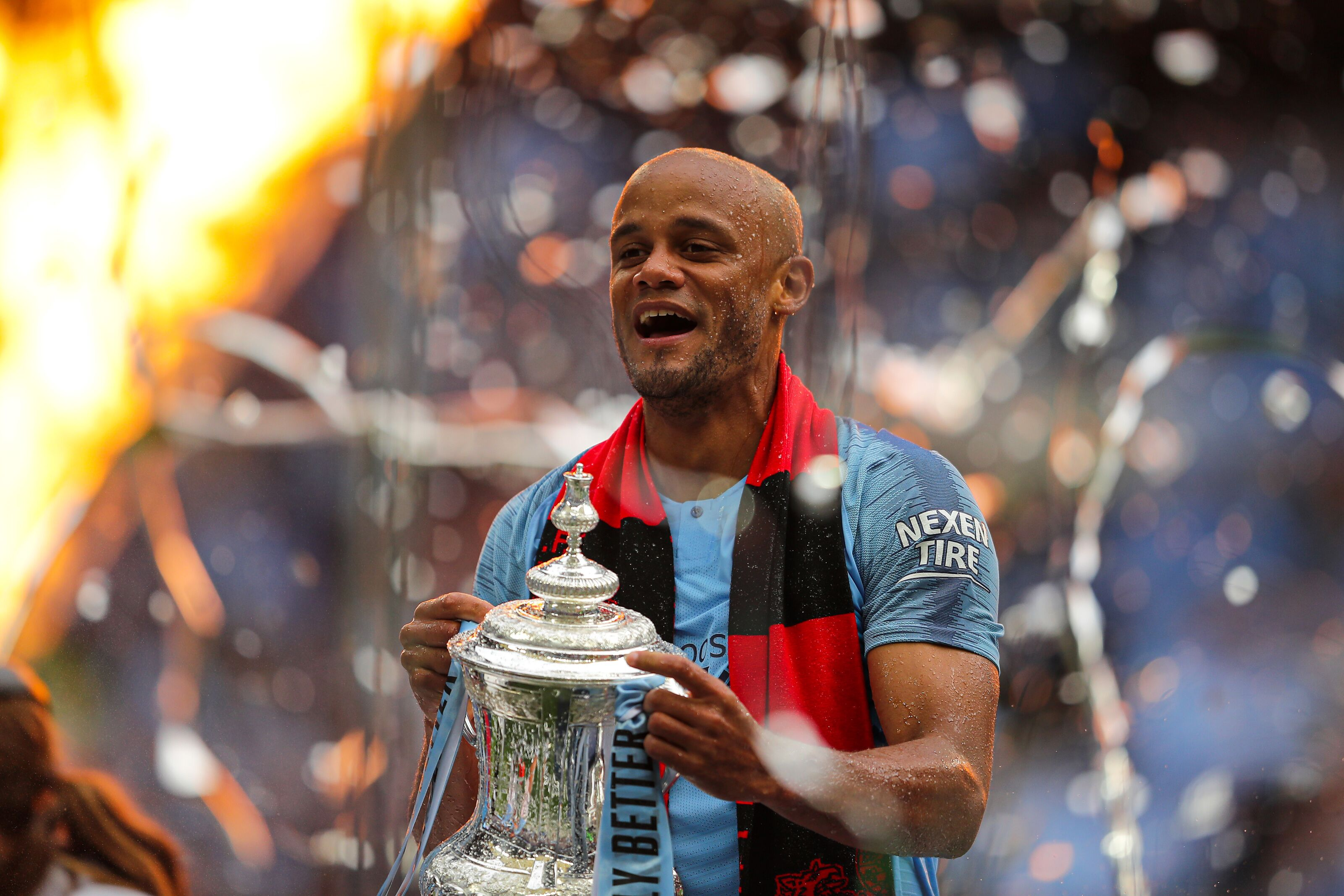 Captain Vincent Kompany to Depart Manchester City After 11 Years