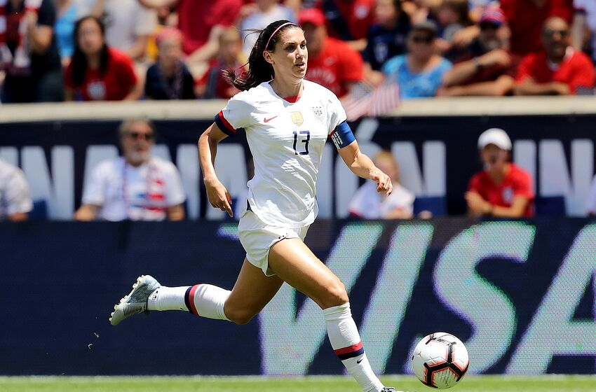 f716dcdaa FIFA Women s World Cup  USWNT forward Alex Morgan set to shine