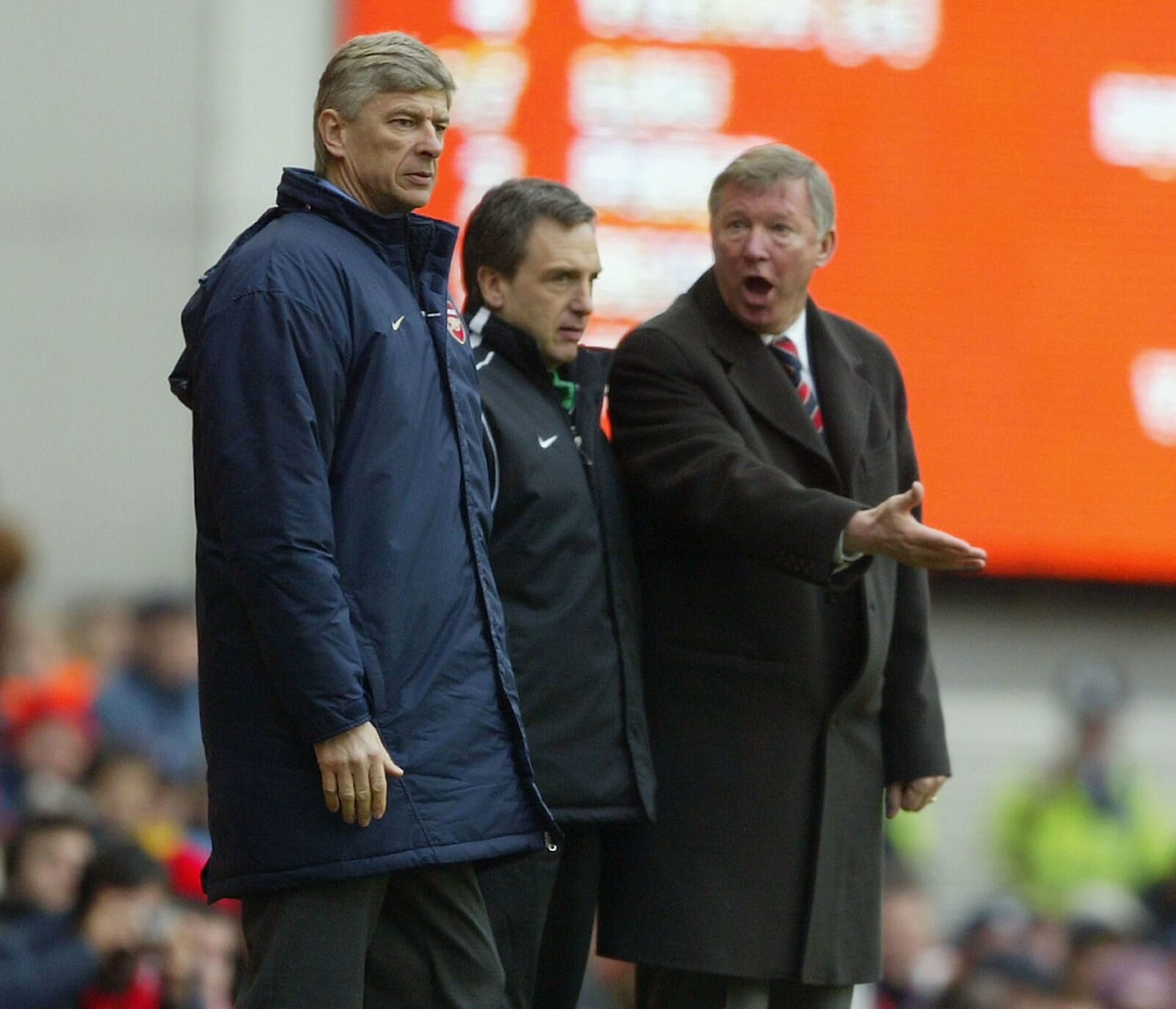 Throwback Thursday: Arsenal, Man United, and The Battle of the Buffet
