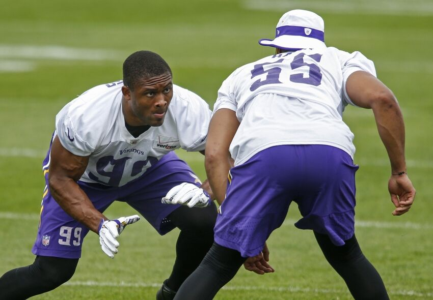 minnesota vikings danielle hunter gets 1st team reps. Black Bedroom Furniture Sets. Home Design Ideas