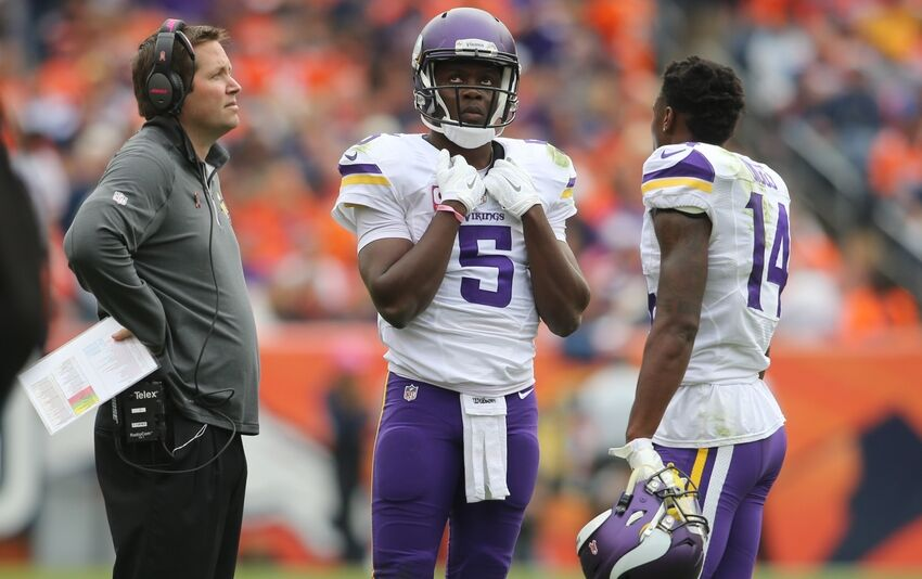 Minnesota Vikings: Diggs Is A Reliable Target For Bridgewater