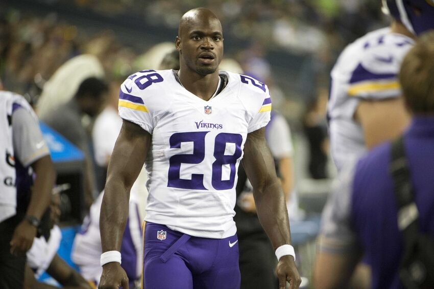 Adrian Peterson Ruled Out For Vikings In Week 16 Against