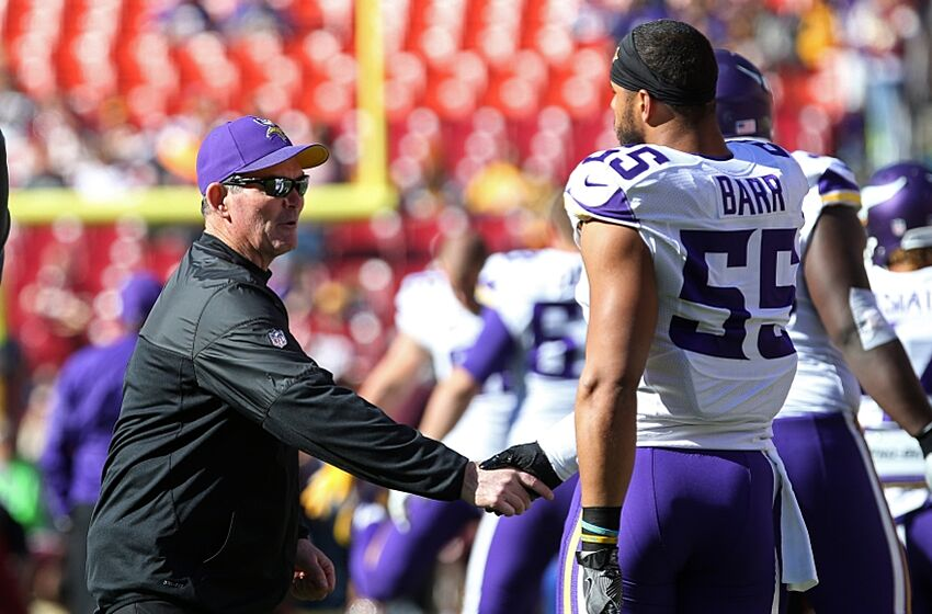 d627797c Vikings head coach says Anthony Barr 'has a tendency to coast a ...