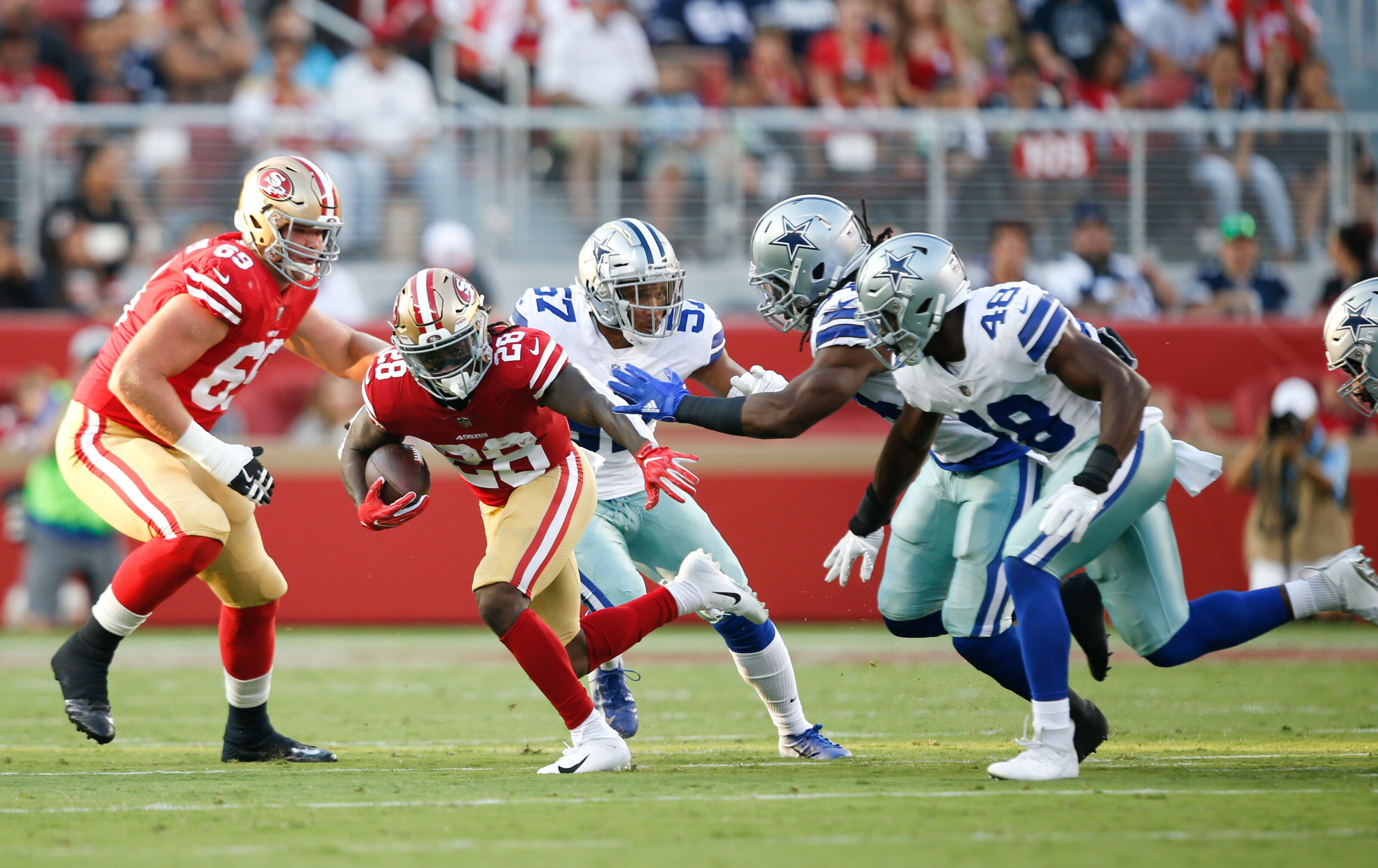 Jerick McKinnon still hasn't been cleared to practice for the 49ers