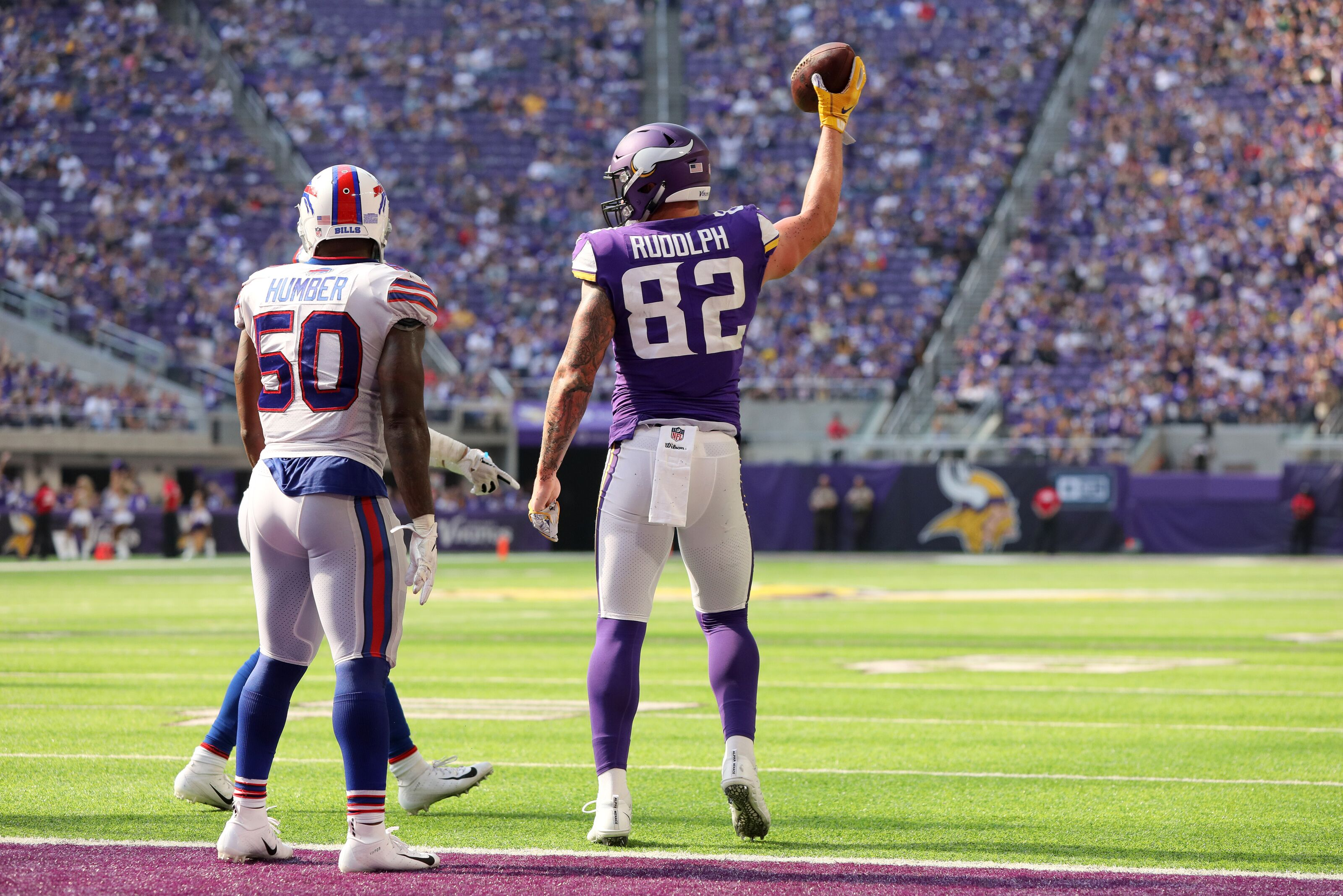 dac0f147b2d Could Kyle Rudolph end up with the Buffalo Bills in 2019
