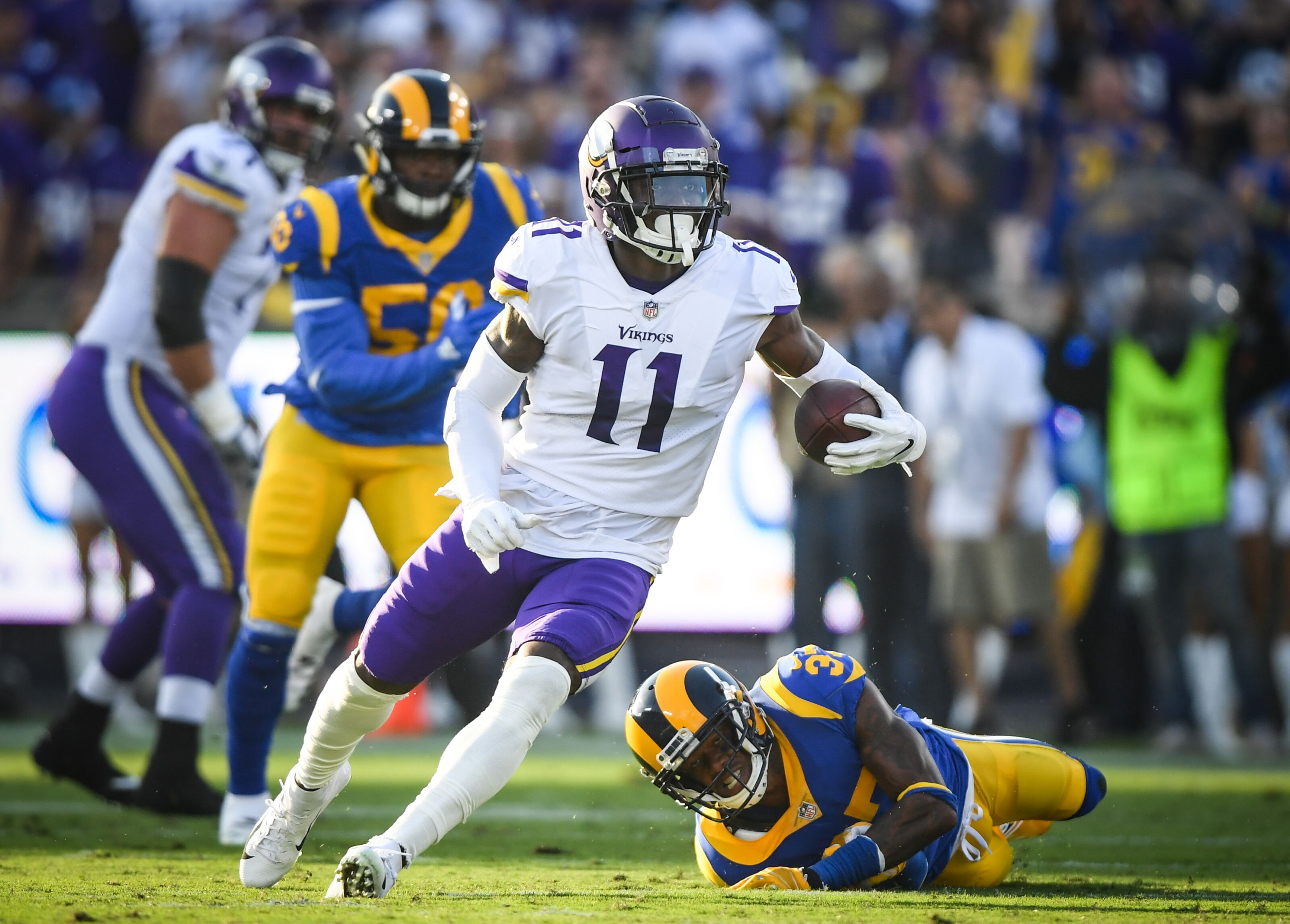 It Is Time For The Vikings To Say Goodbye To Laquon Treadwell