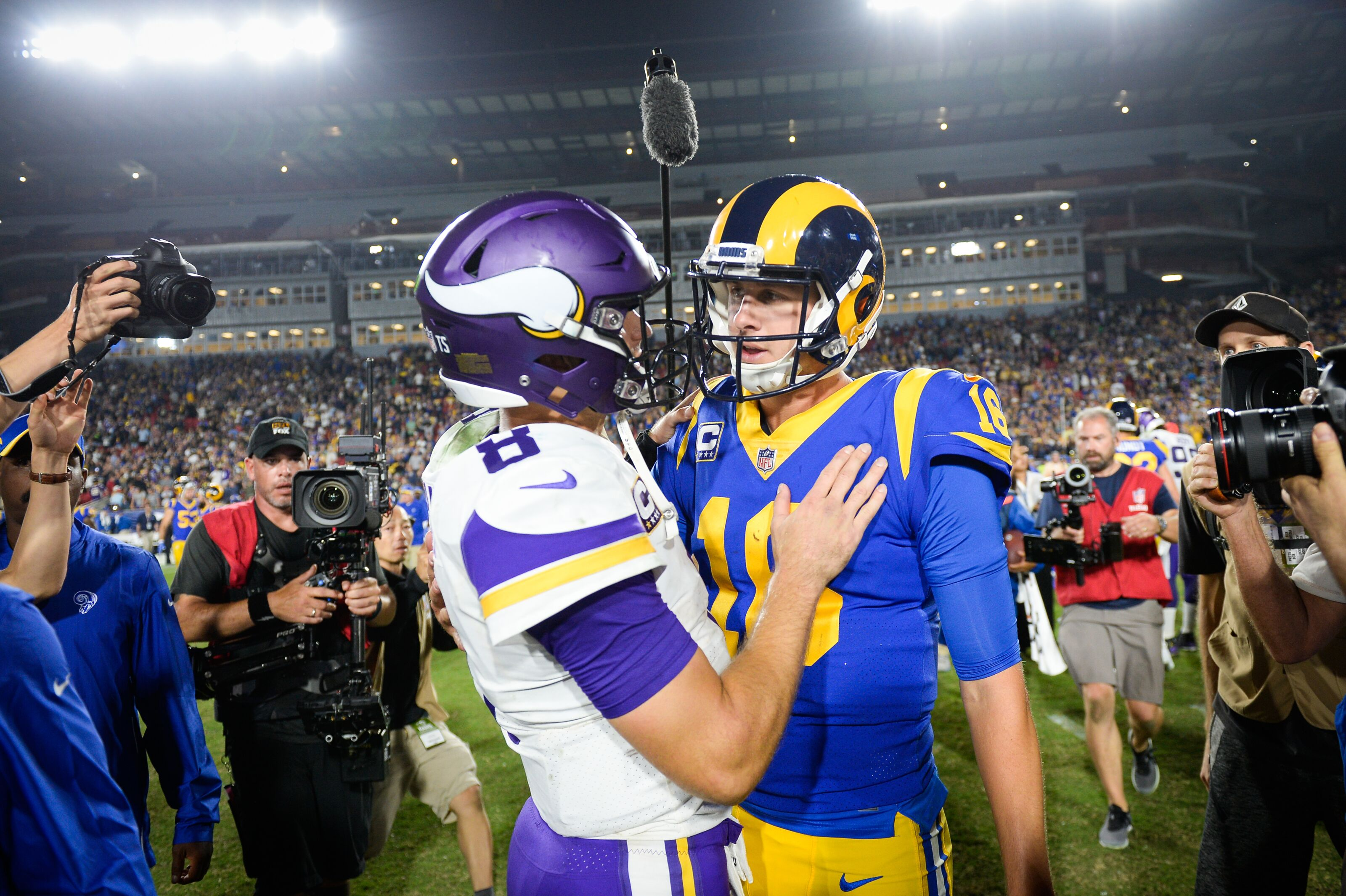 vikings vs rams