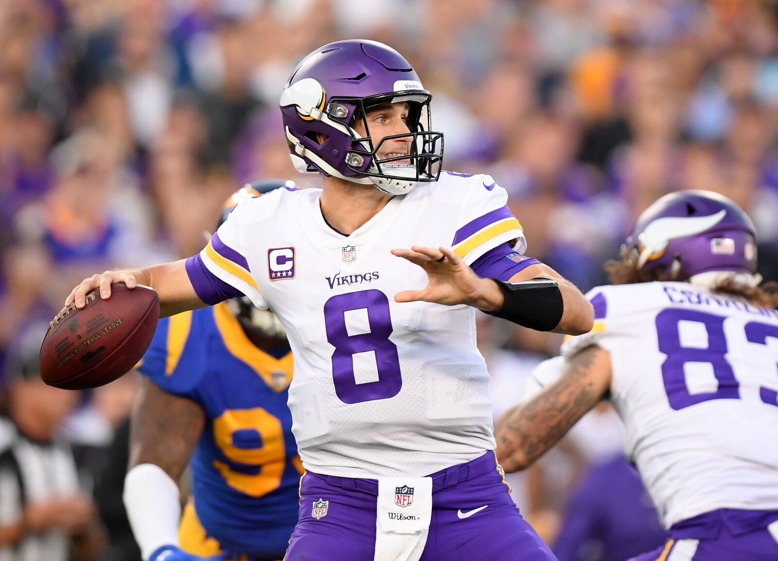 a1b9456c Former NFL quarterback says Kirk Cousins will be 'a lot better' in 2019