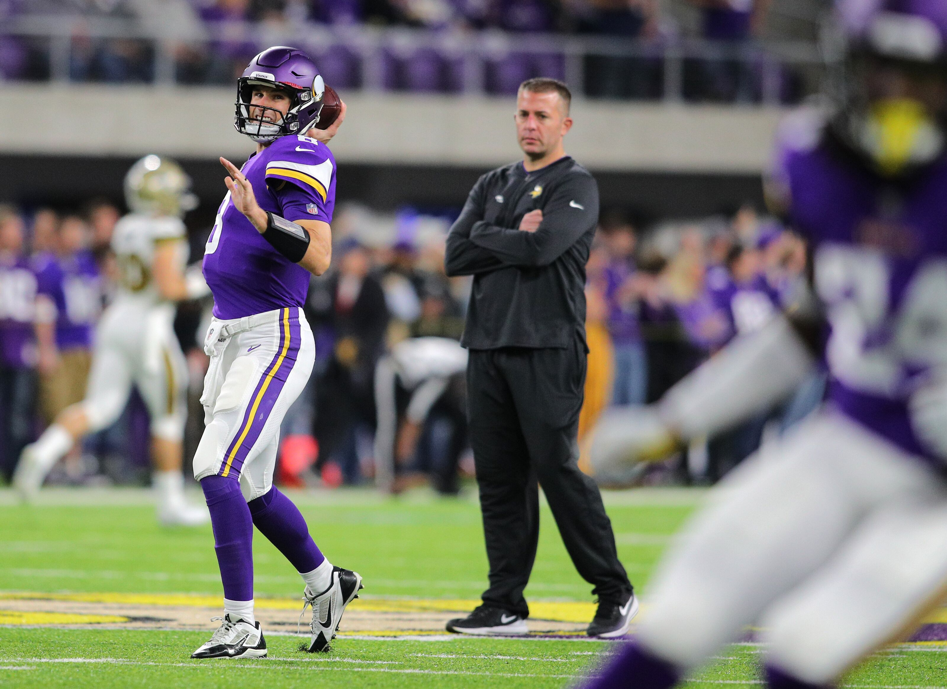 John DeFilippo not interested in talking about his Vikings departure
