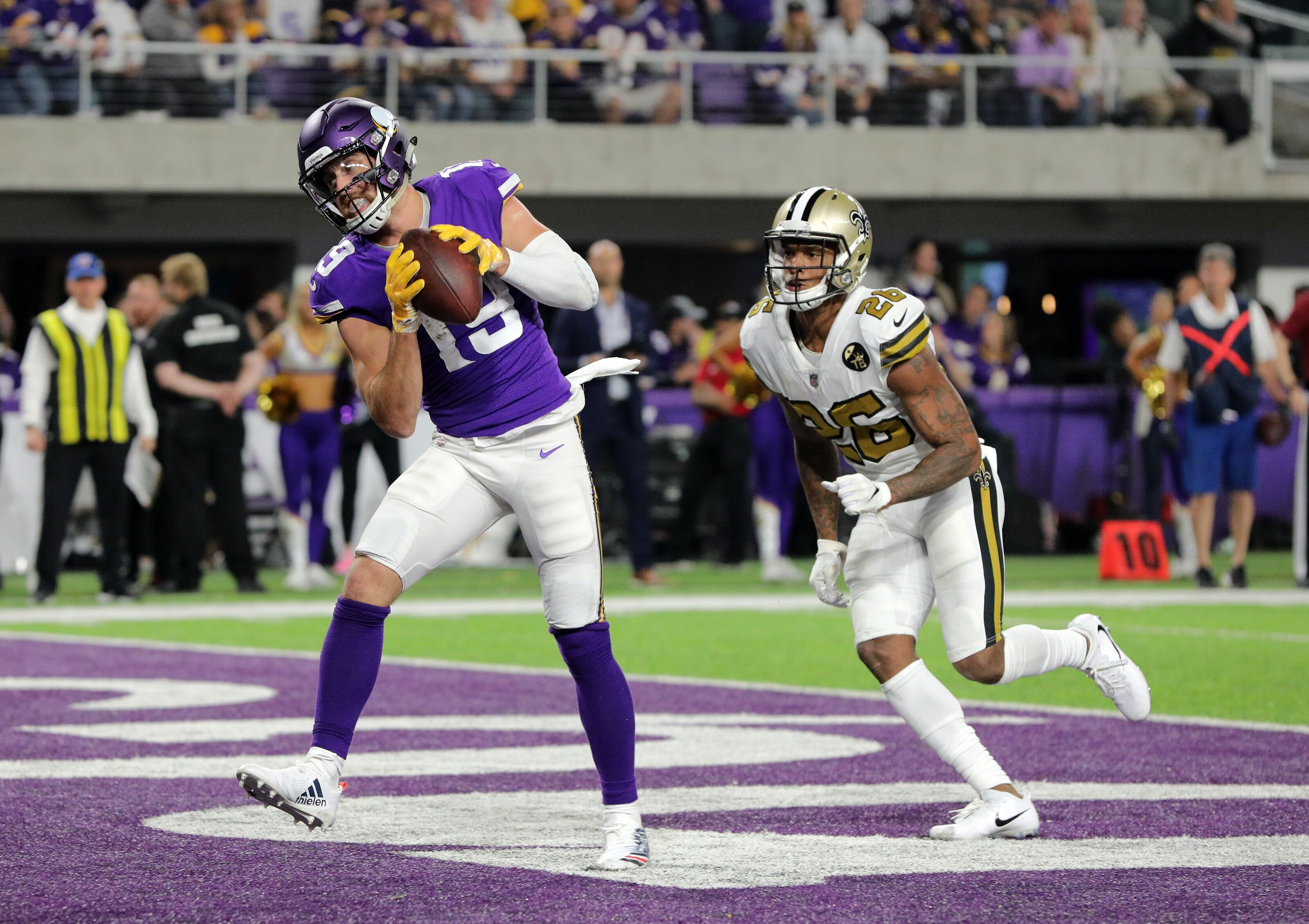 Minnesota Vikings Ups And Downs Week 8 Vs The New Orleans Saints