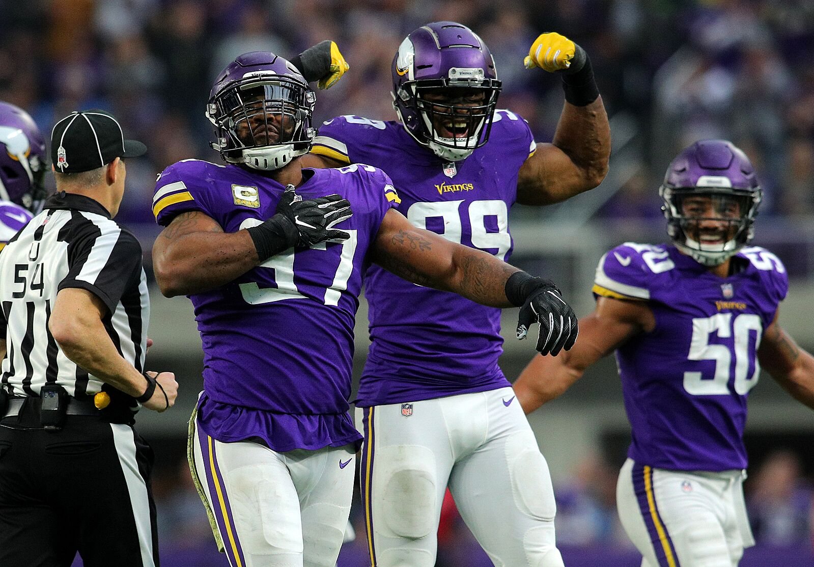40b017a1a0c The Minnesota Vikings will host the Miami Dolphins in Week 15 and here are  three reasons why the purple and gold will be victorious on Dec. 16, 2018.